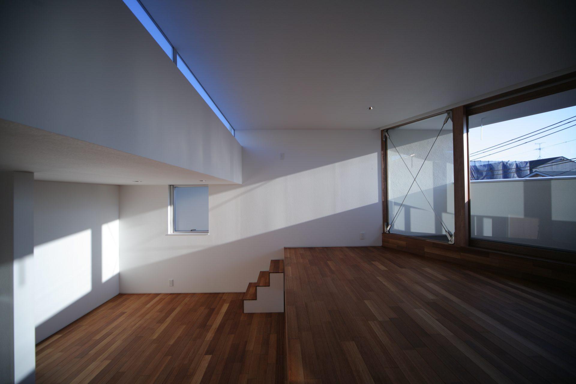 大阪百舌鳥の家のスキップフロア02