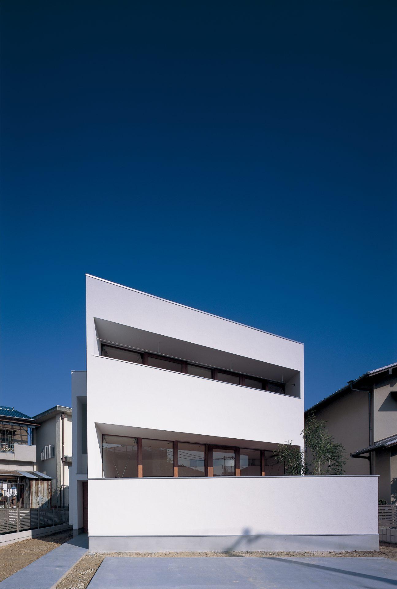 大阪百舌鳥の家の外観