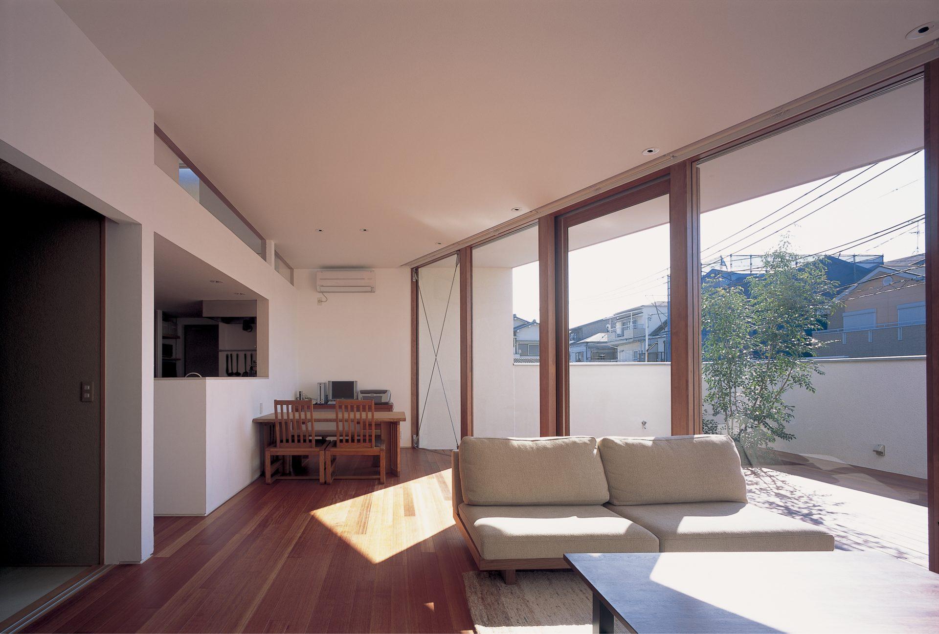 大阪百舌鳥の家のLDK02