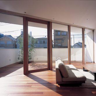 大阪百舌鳥の家のLDK01