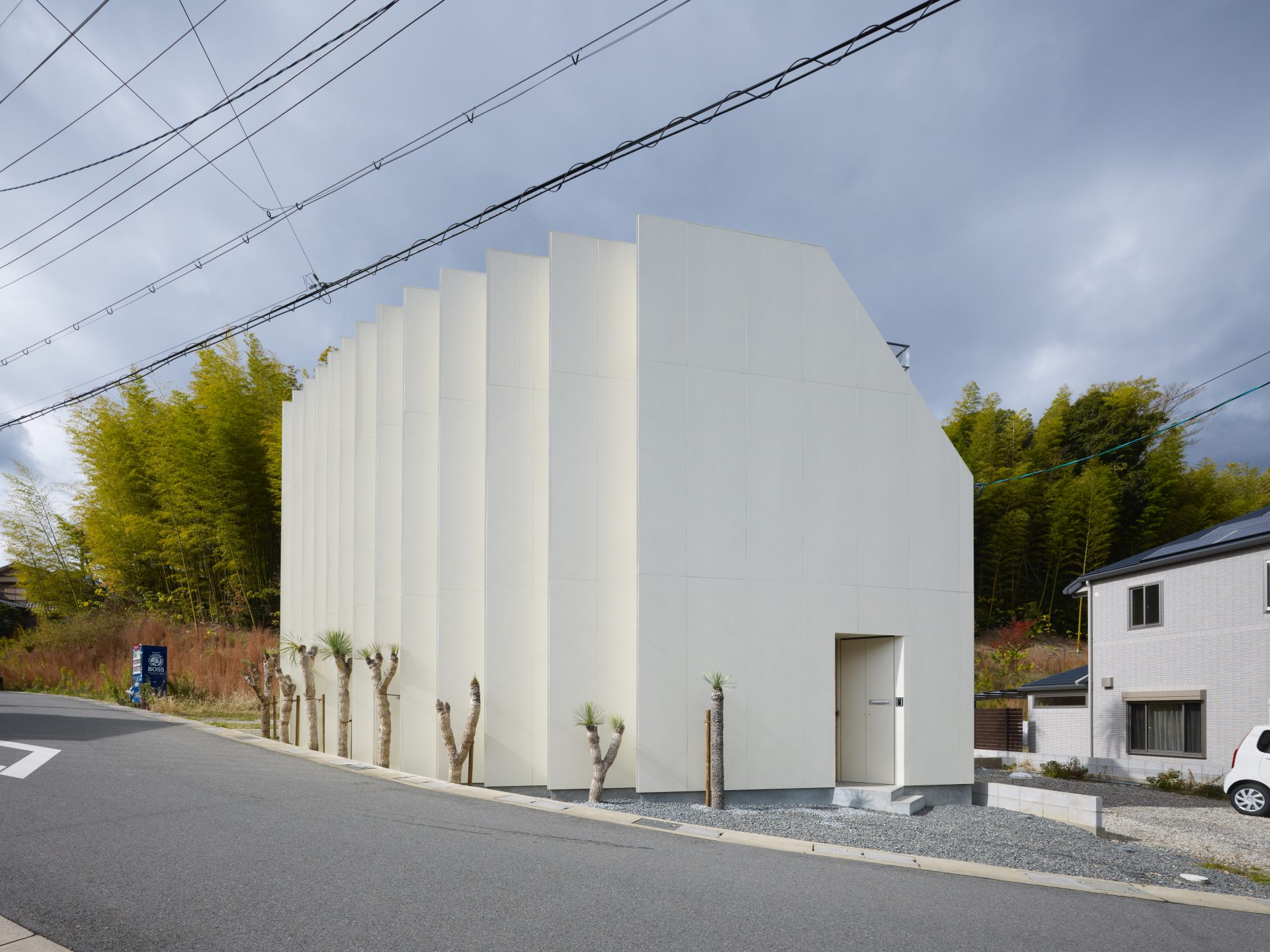 京都向日の家の外観02