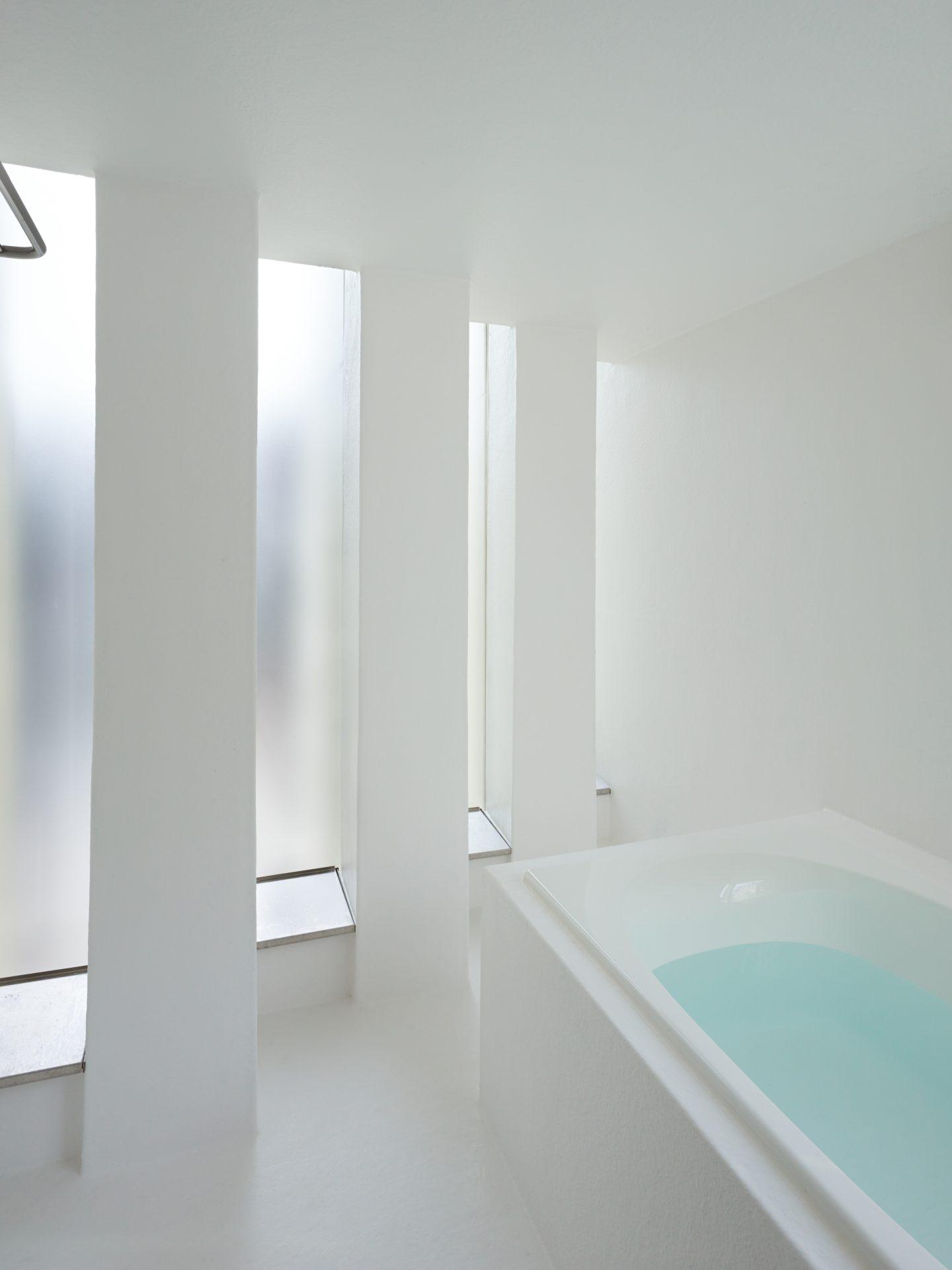 京都向日の家の浴室