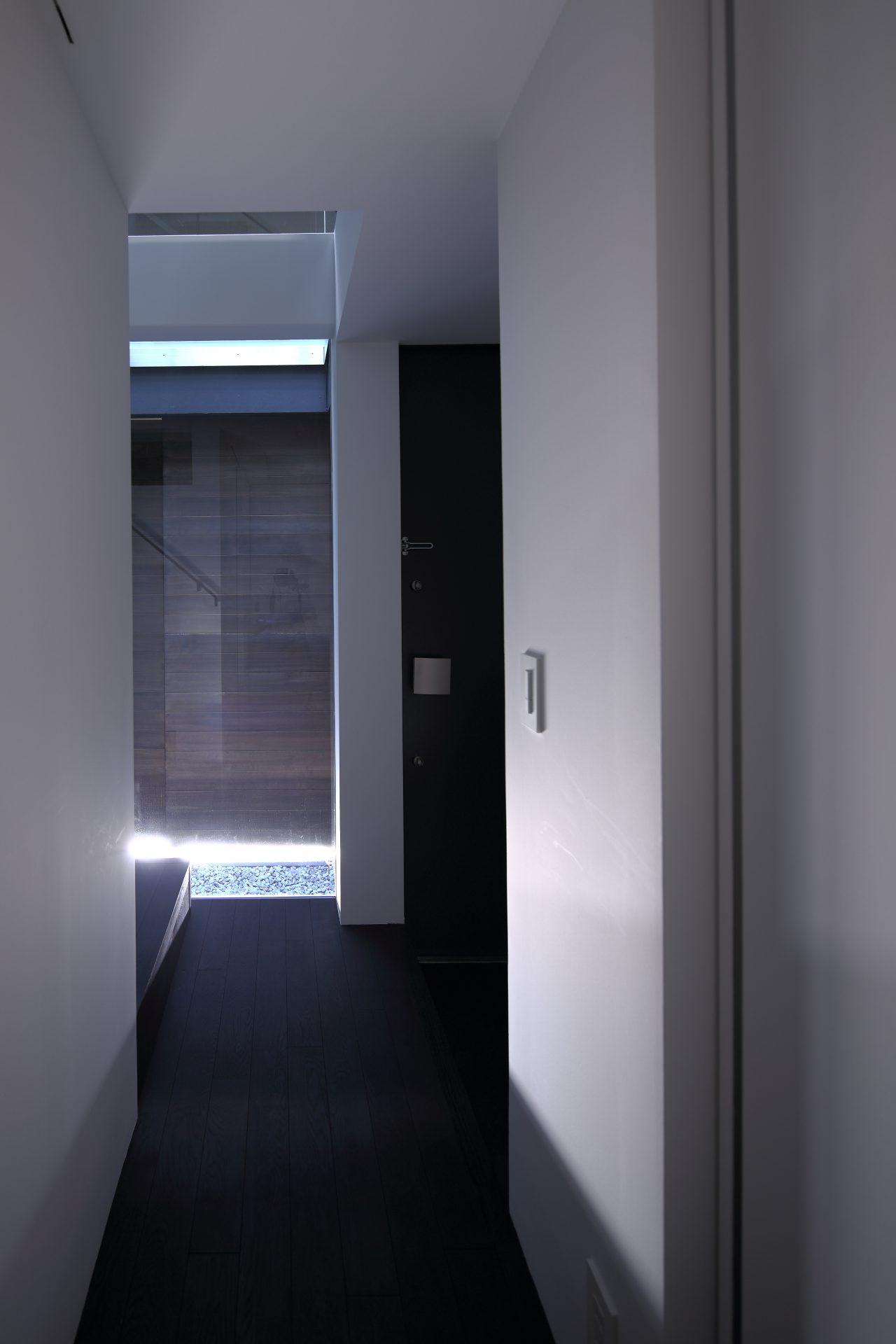 兵庫武庫之荘の家の廊下