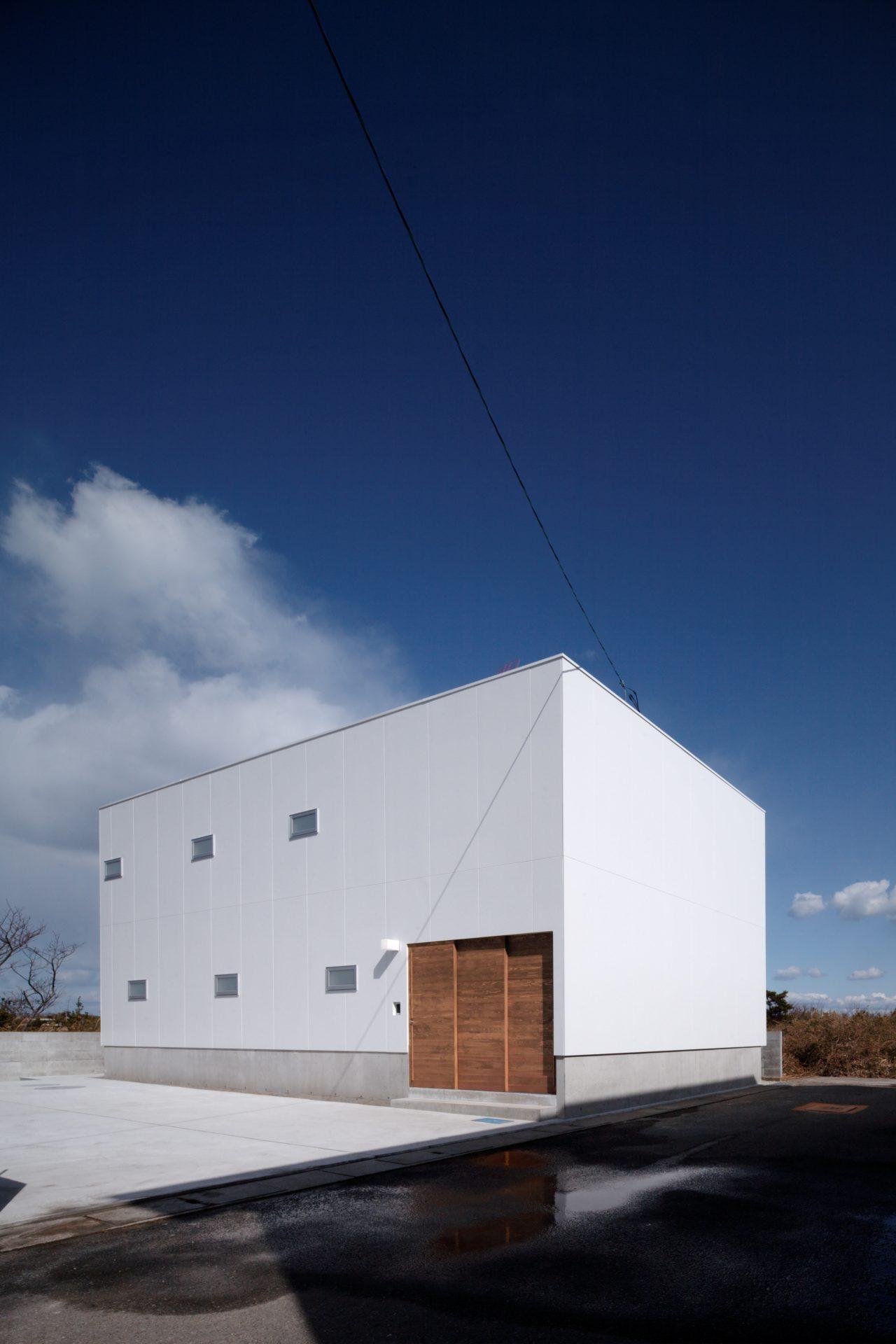 徳島那賀川の家の外観