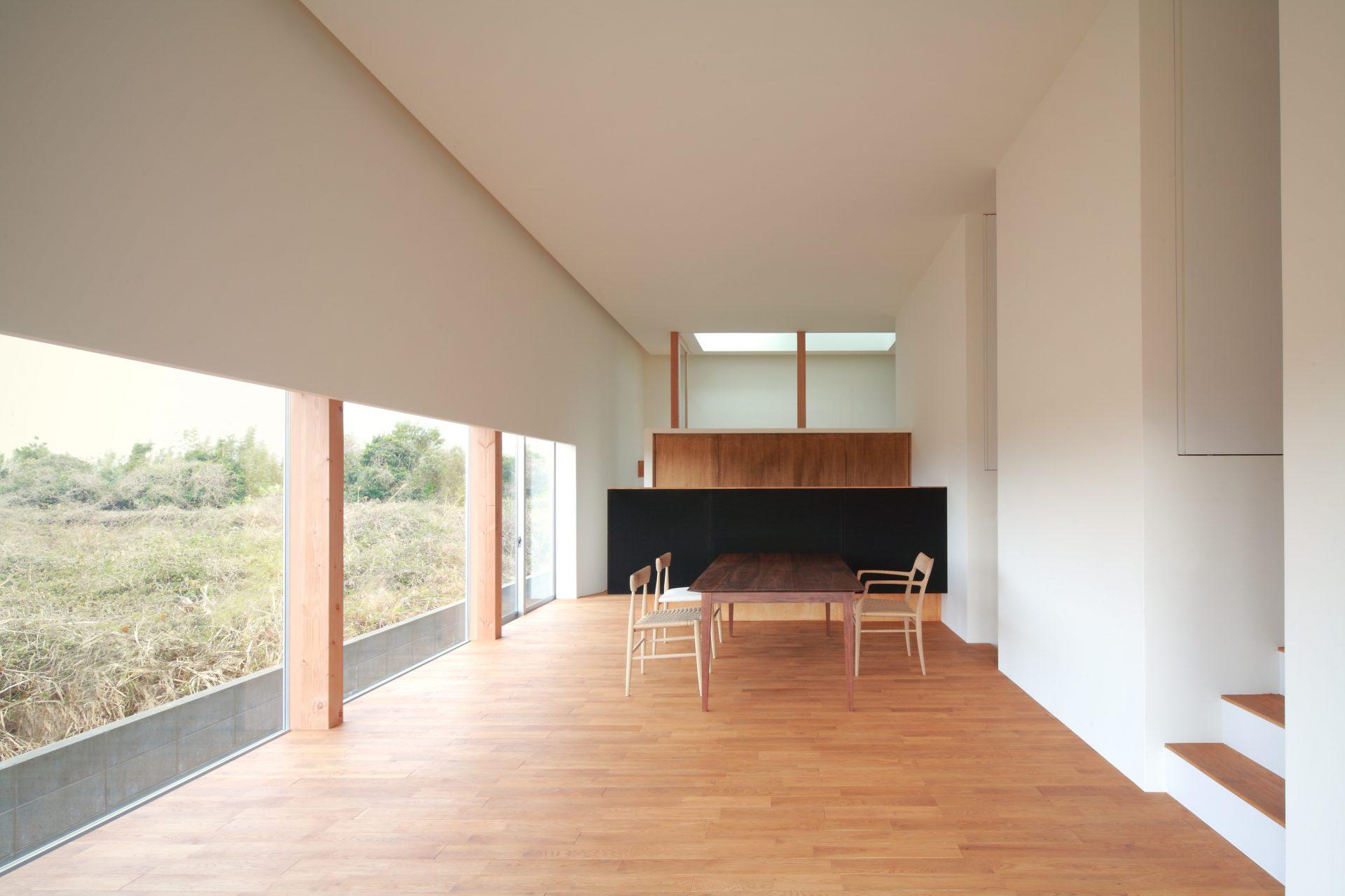 徳島那賀川の家のLDK01