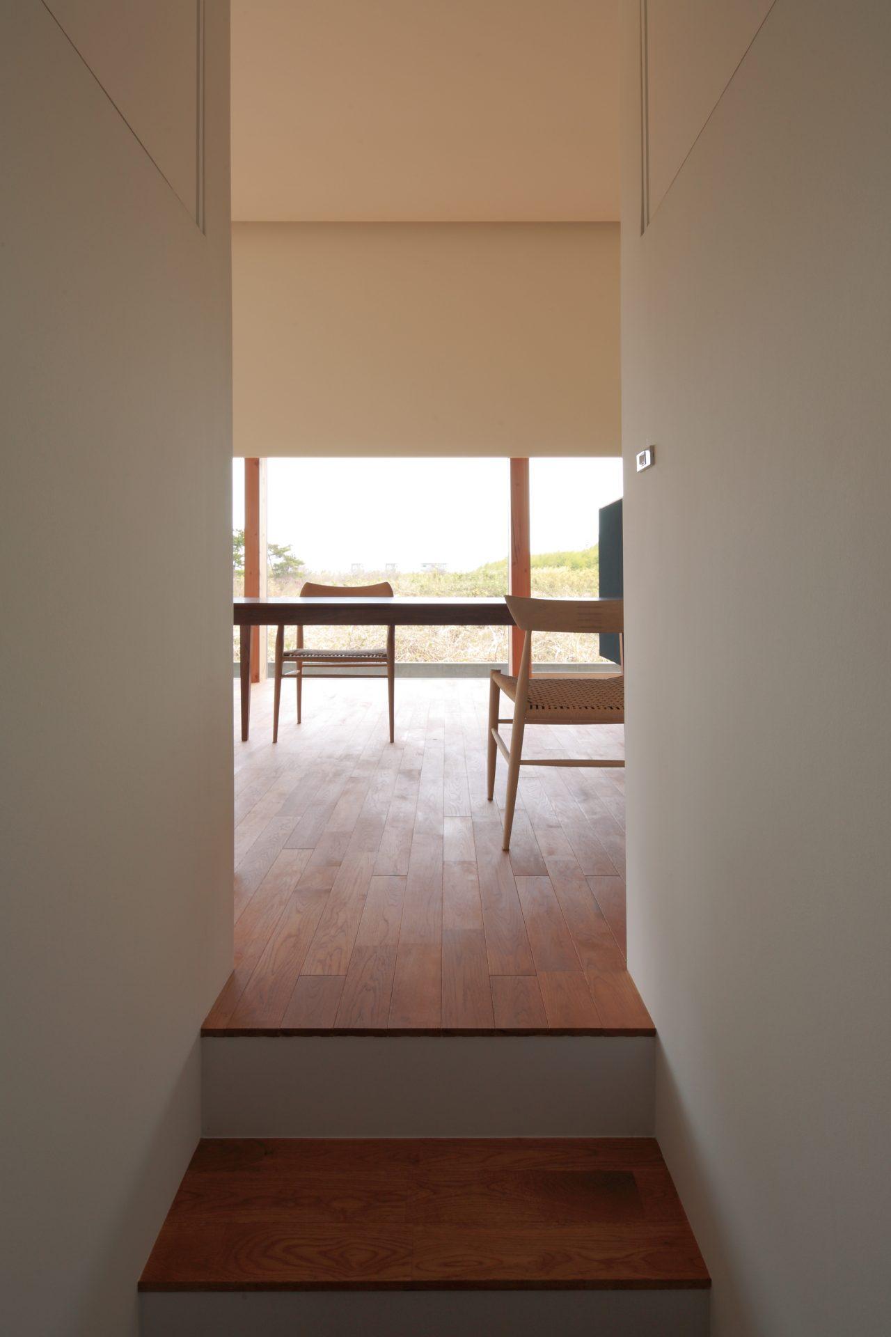徳島那賀川の家の廊下