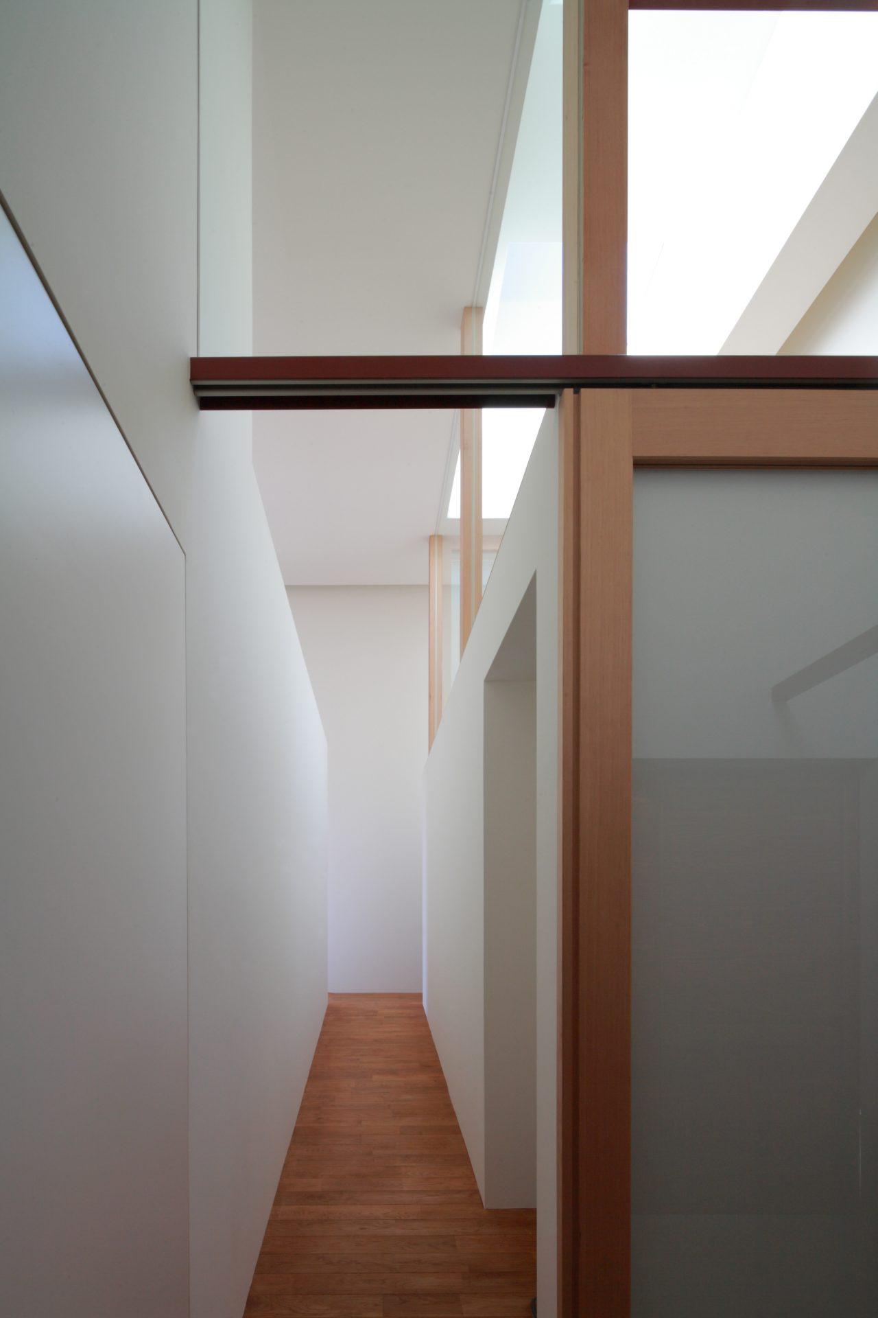 徳島那賀川の家の玄関