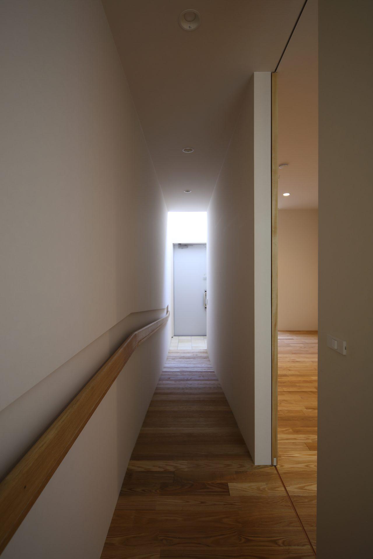 奈良奈良町の家の廊下1