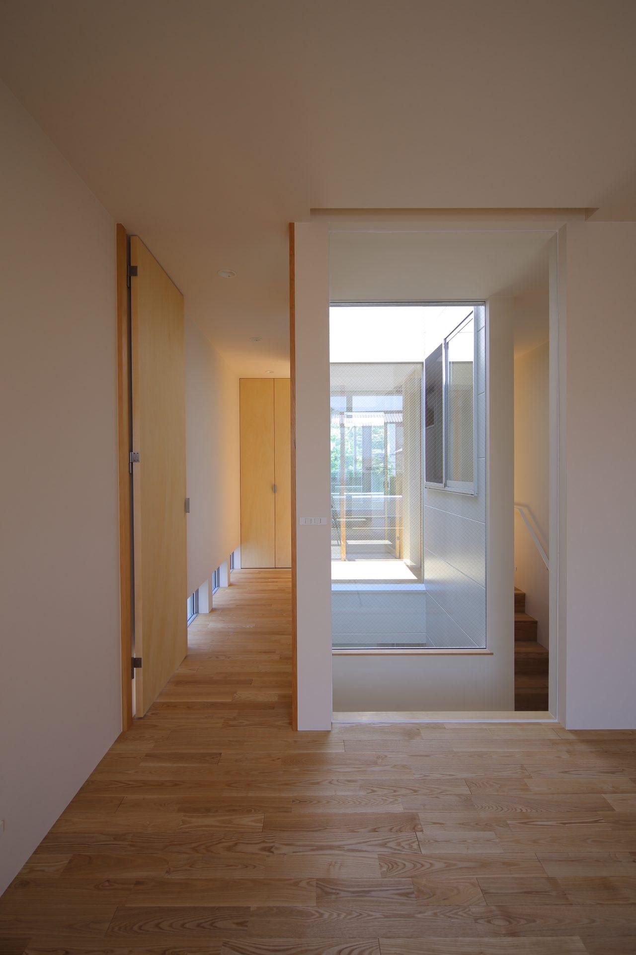 奈良奈良町の家の寝室