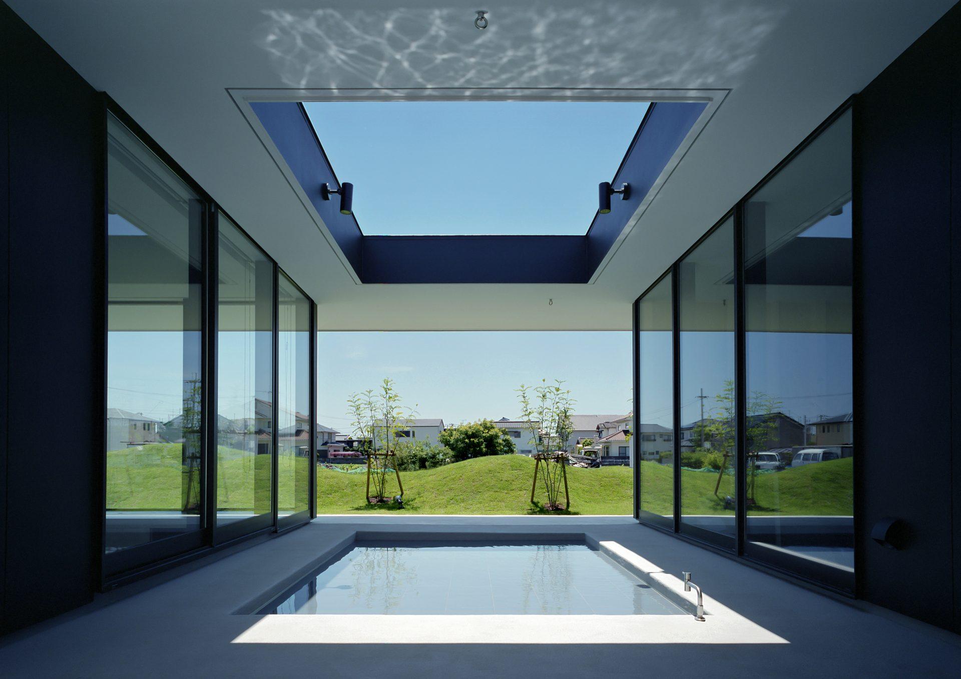 徳島鳴門の家の中庭01