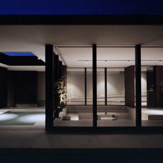 徳島鳴門の家の外観(夜景)03