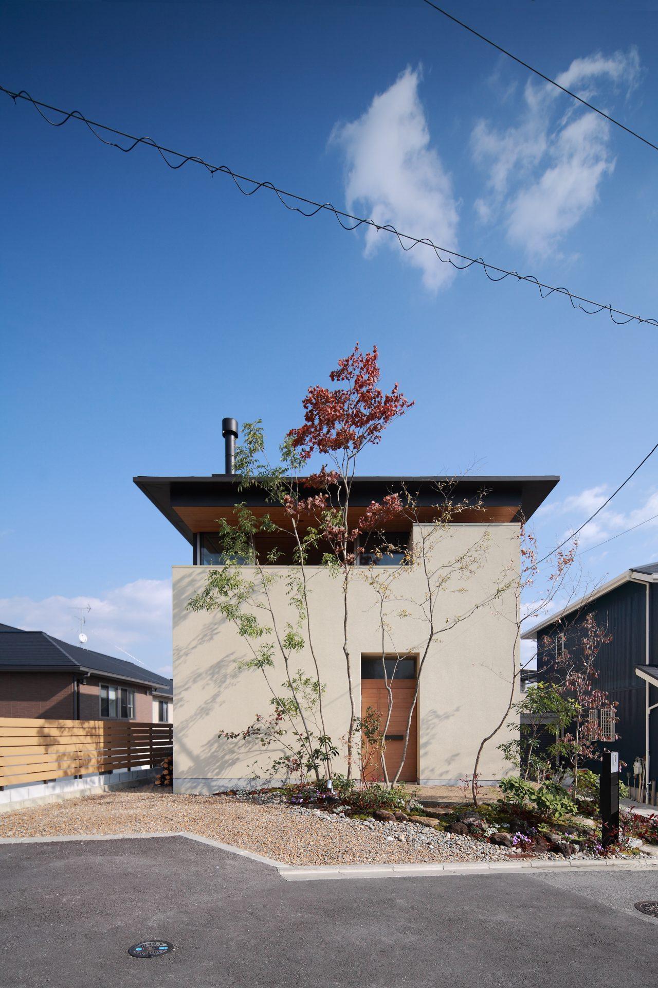 奈良西ノ京の家の外観01