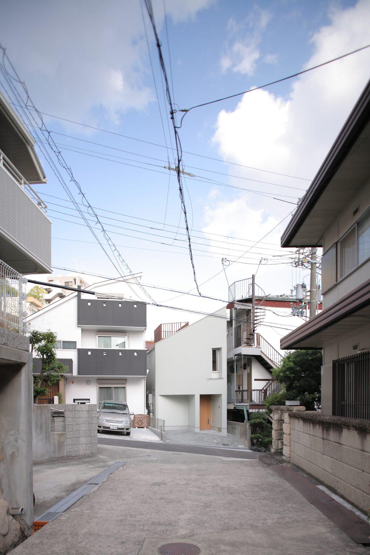 兵庫六甲の家の外観01