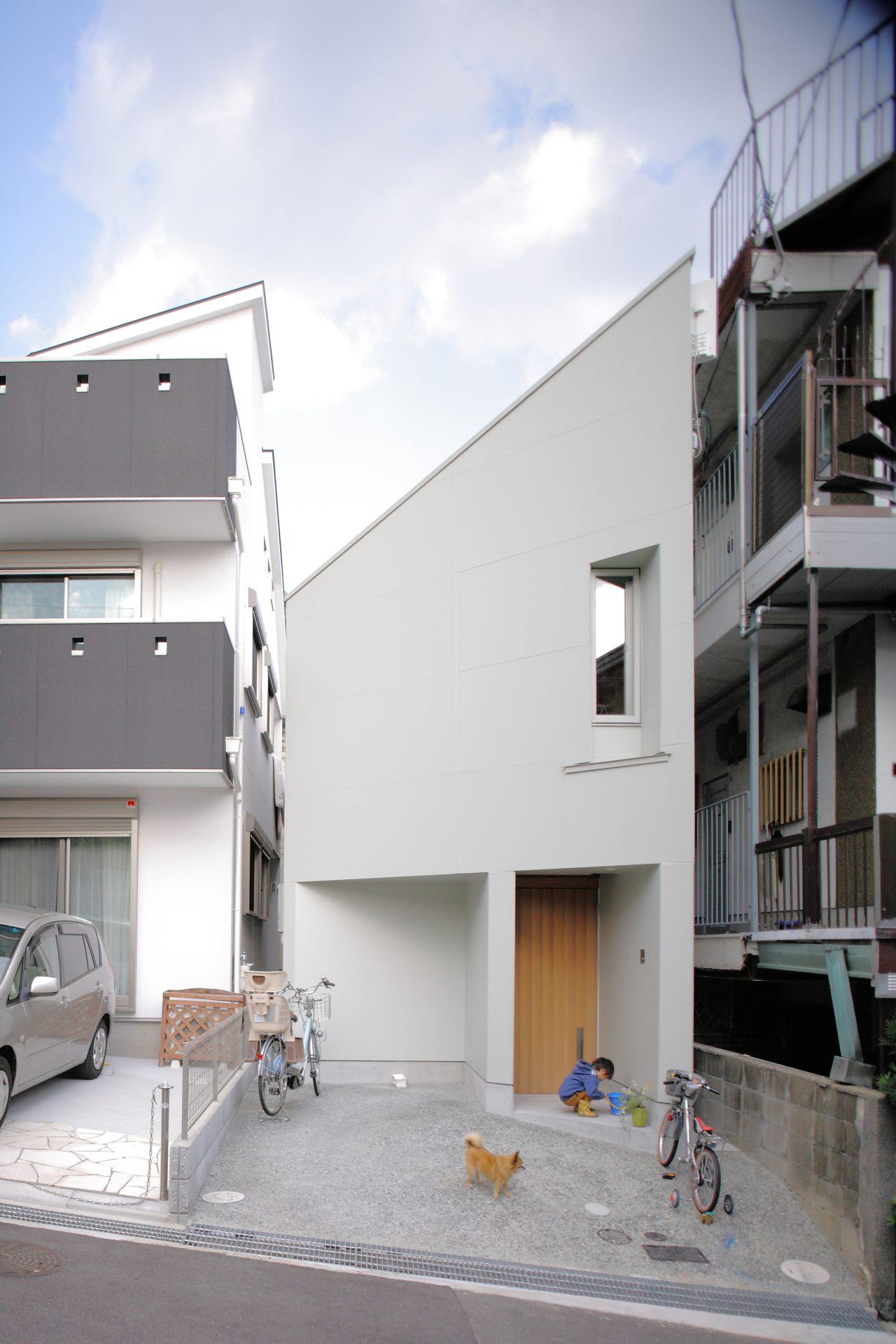 兵庫六甲の家の外観02