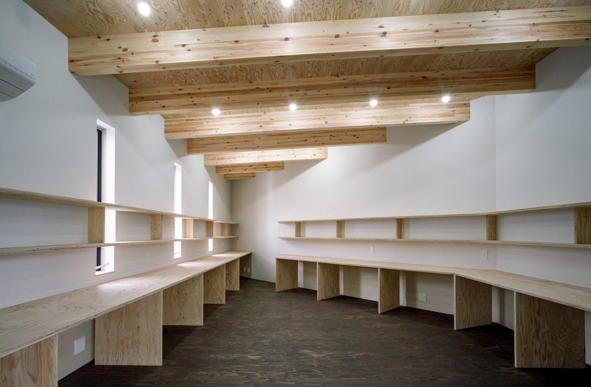 奈良学園前の家のオフィス01