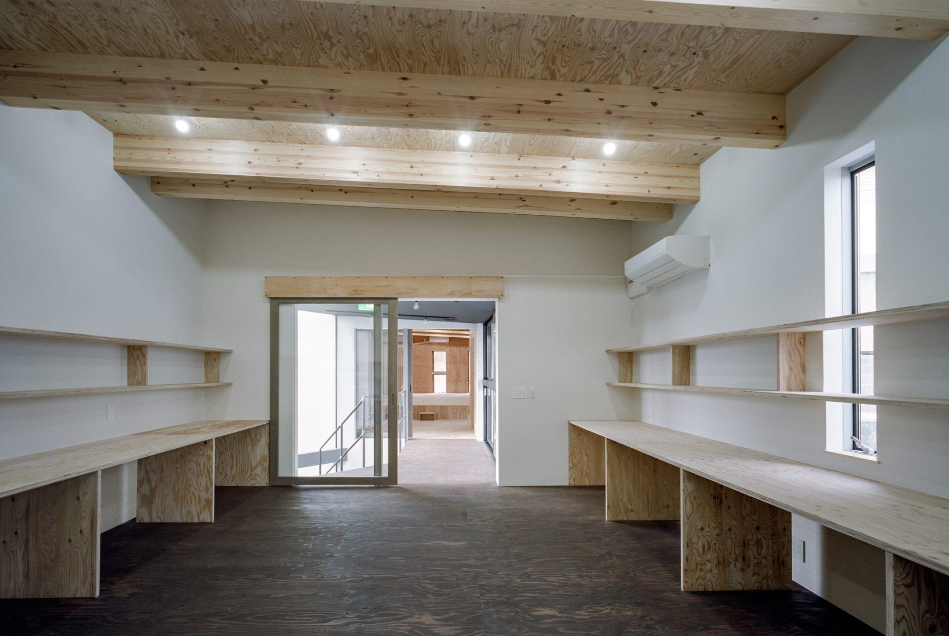 奈良学園前の家のオフィス02