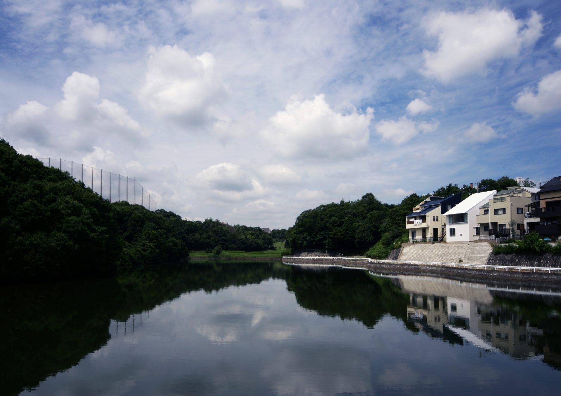 兵庫三田の家の外観