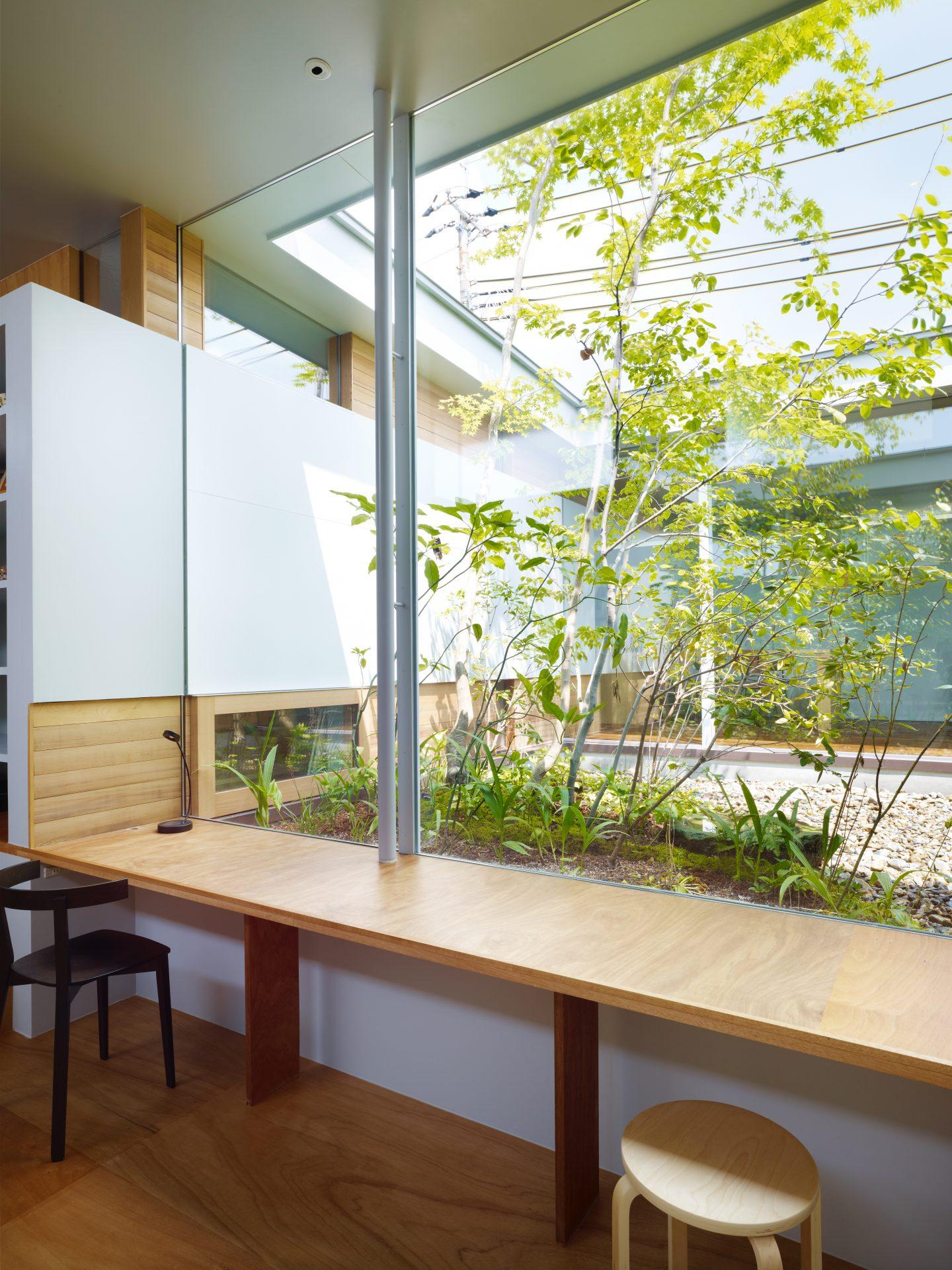 奈良関屋の家のワークスペース02