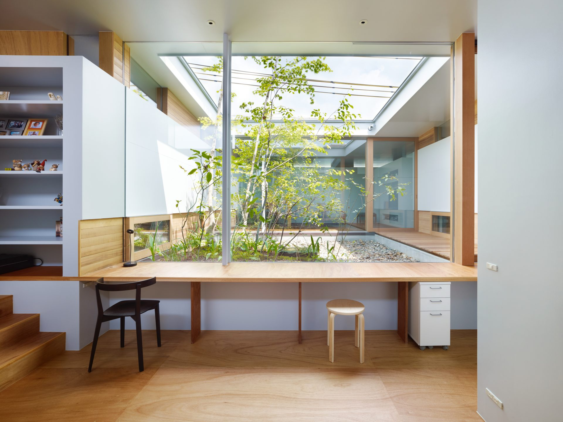 奈良関屋の家のワークスペース03