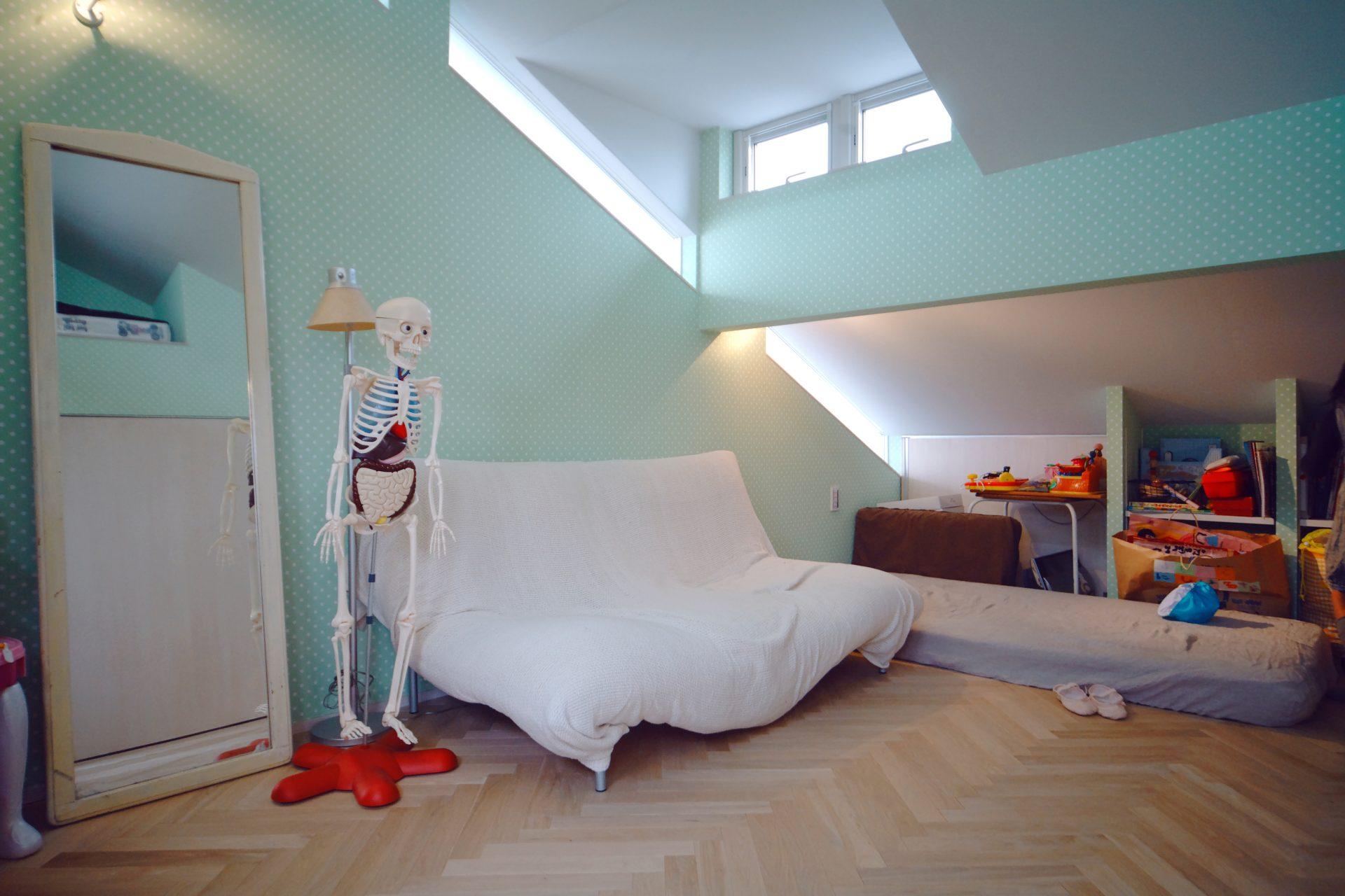 奈良四条大路の家の子ども室