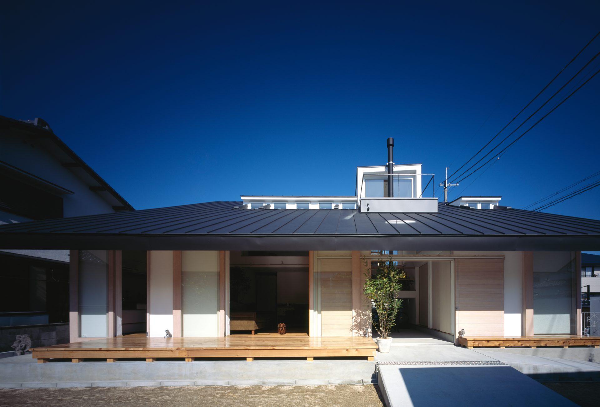 奈良四条大路の家の外観02