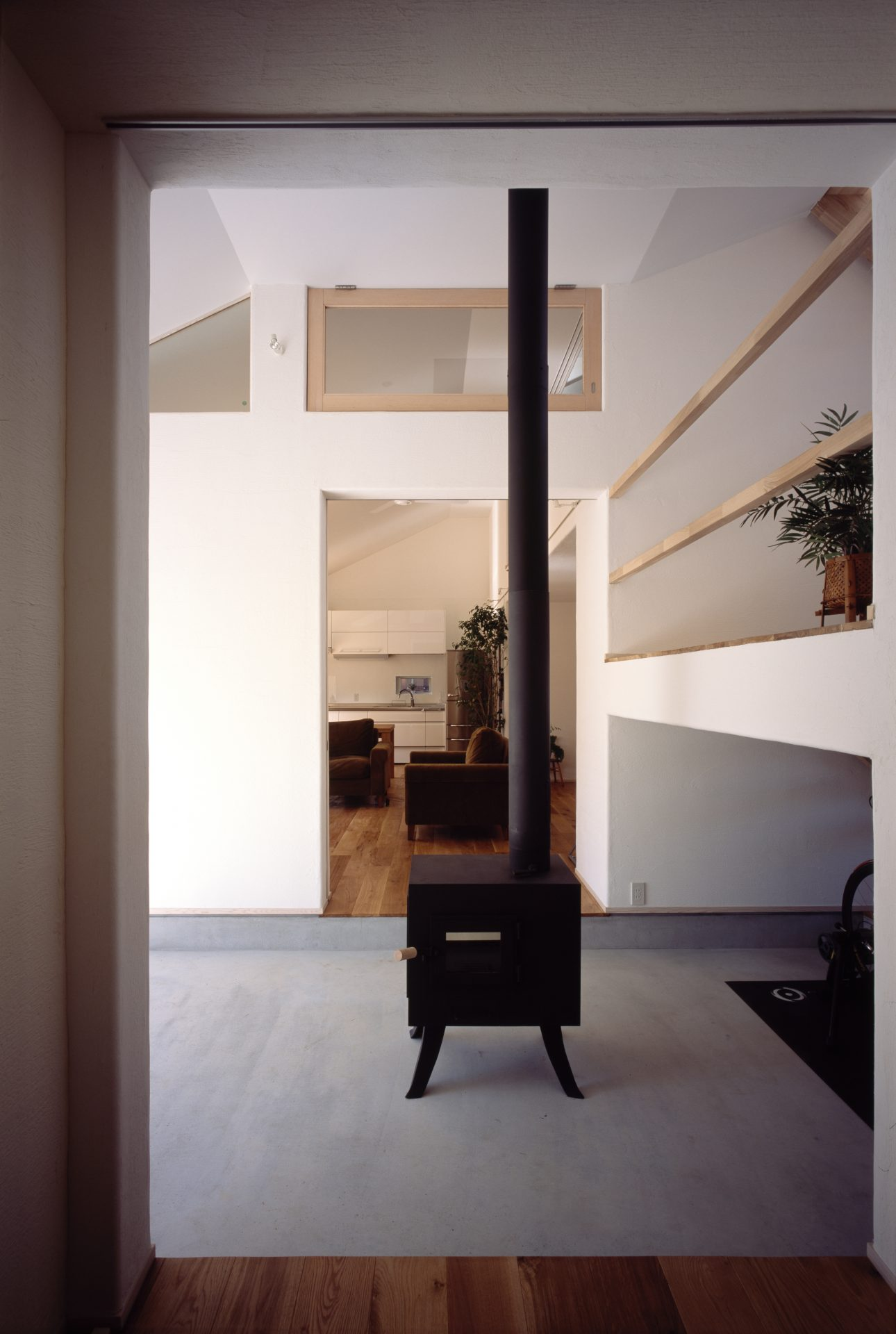 奈良四条大路の家の玄関
