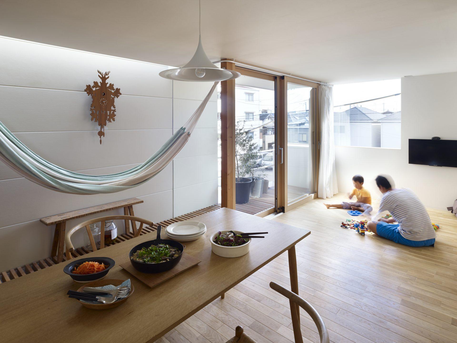 兵庫園田の家のLDK04