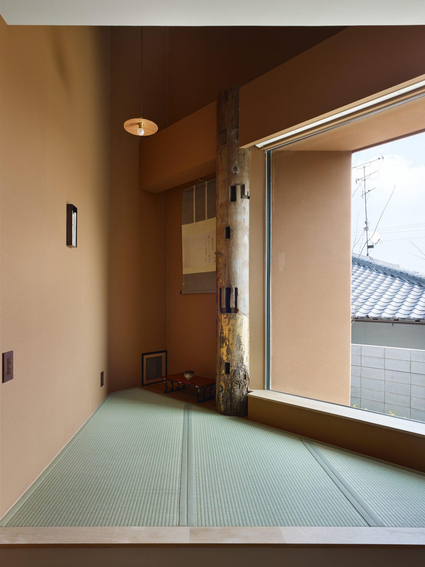 奈良高の原の家の和室01