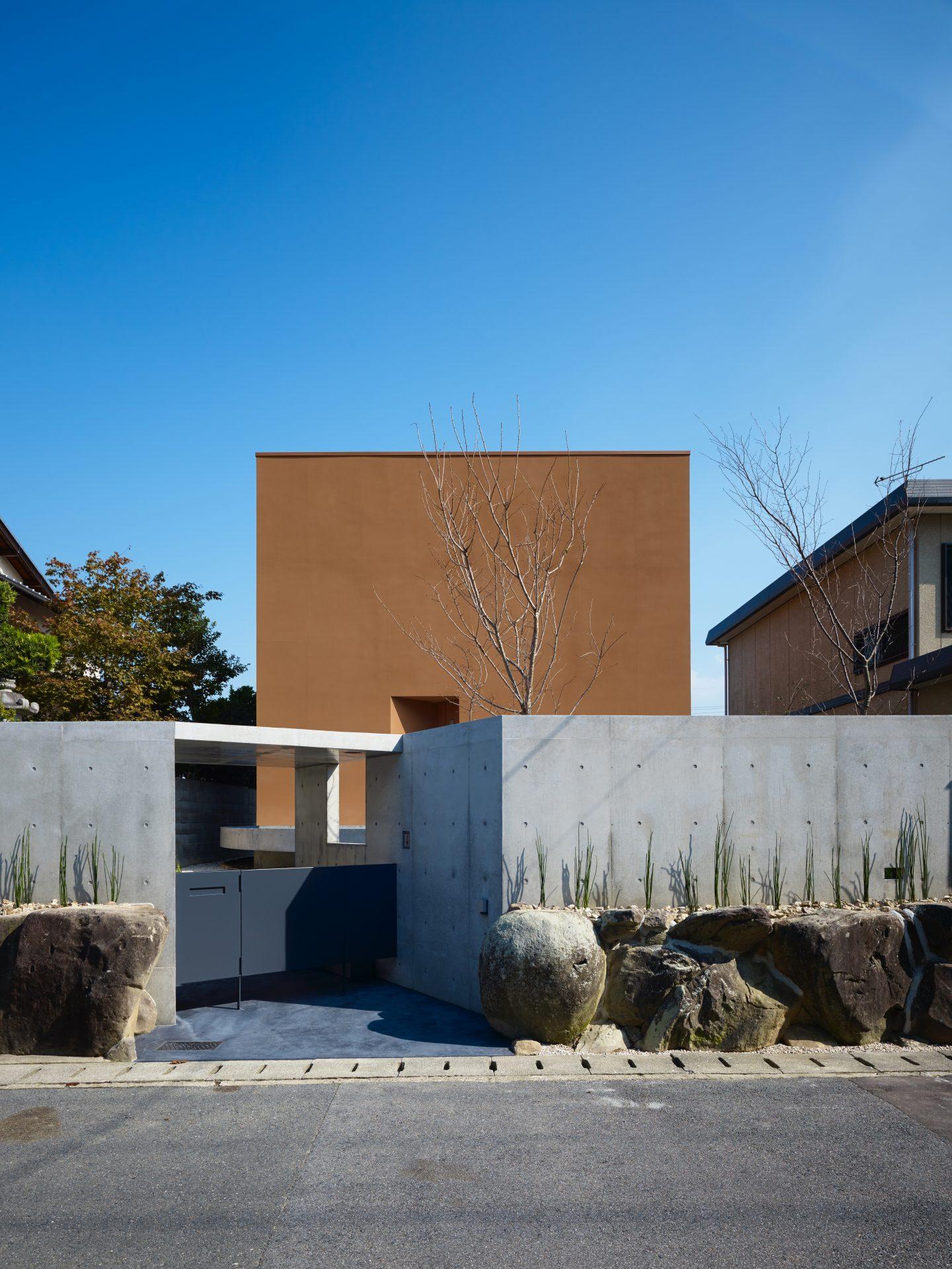 奈良高の原の家の外観01