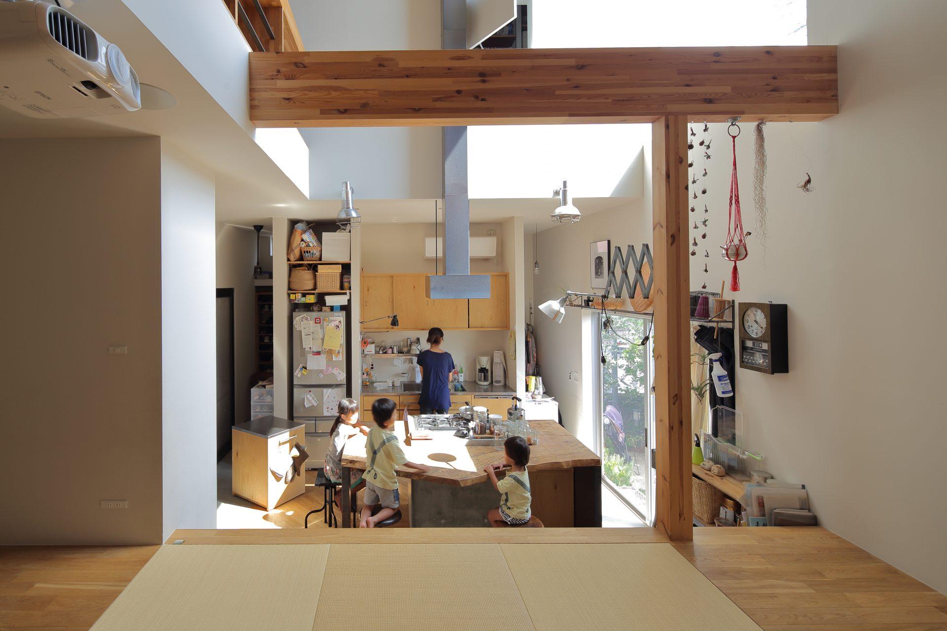 大阪高槻の家の和室01