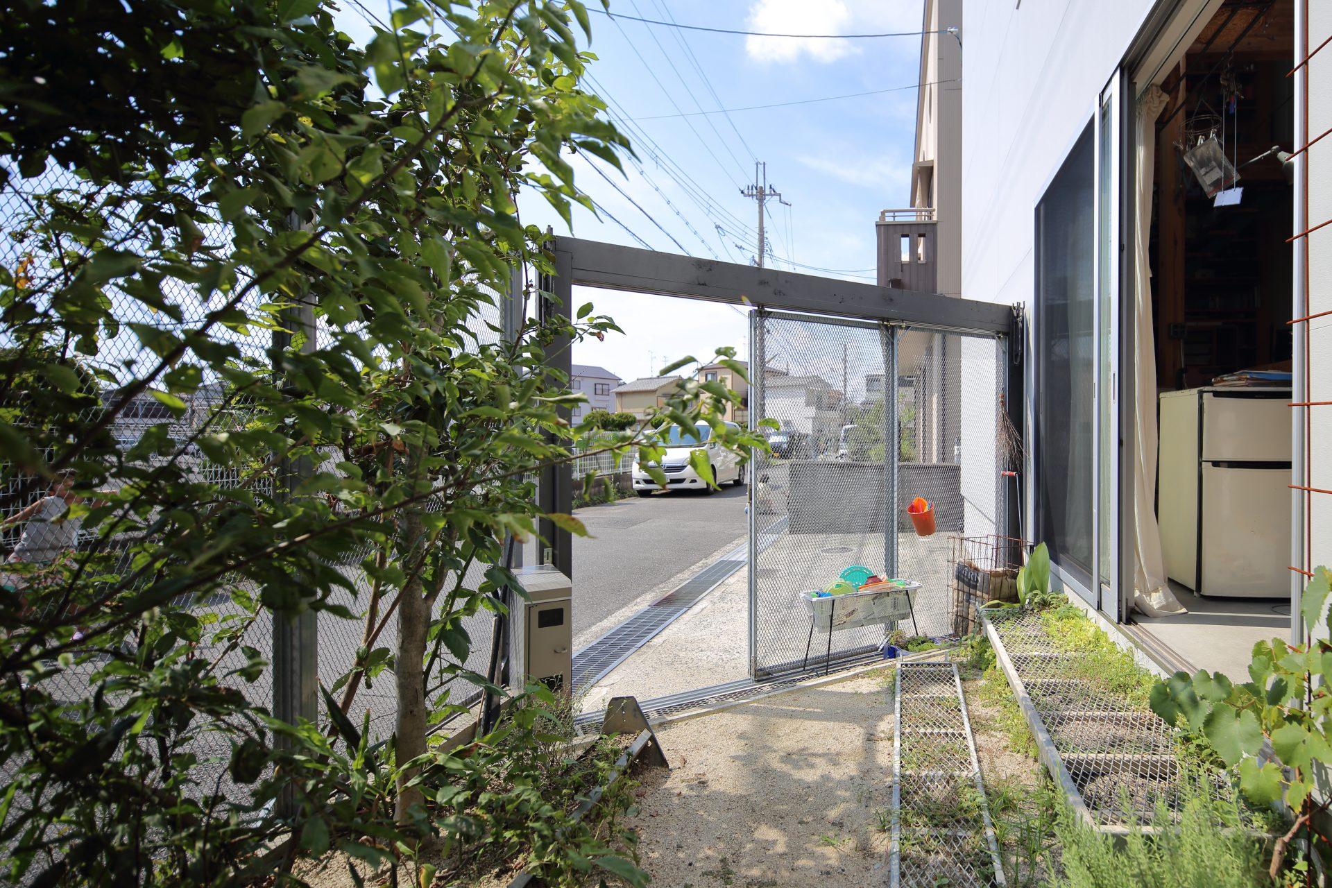 大阪高槻の家の玄関