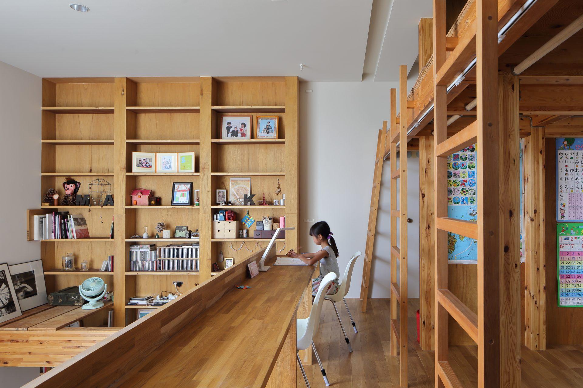 大阪高槻の家の子供室