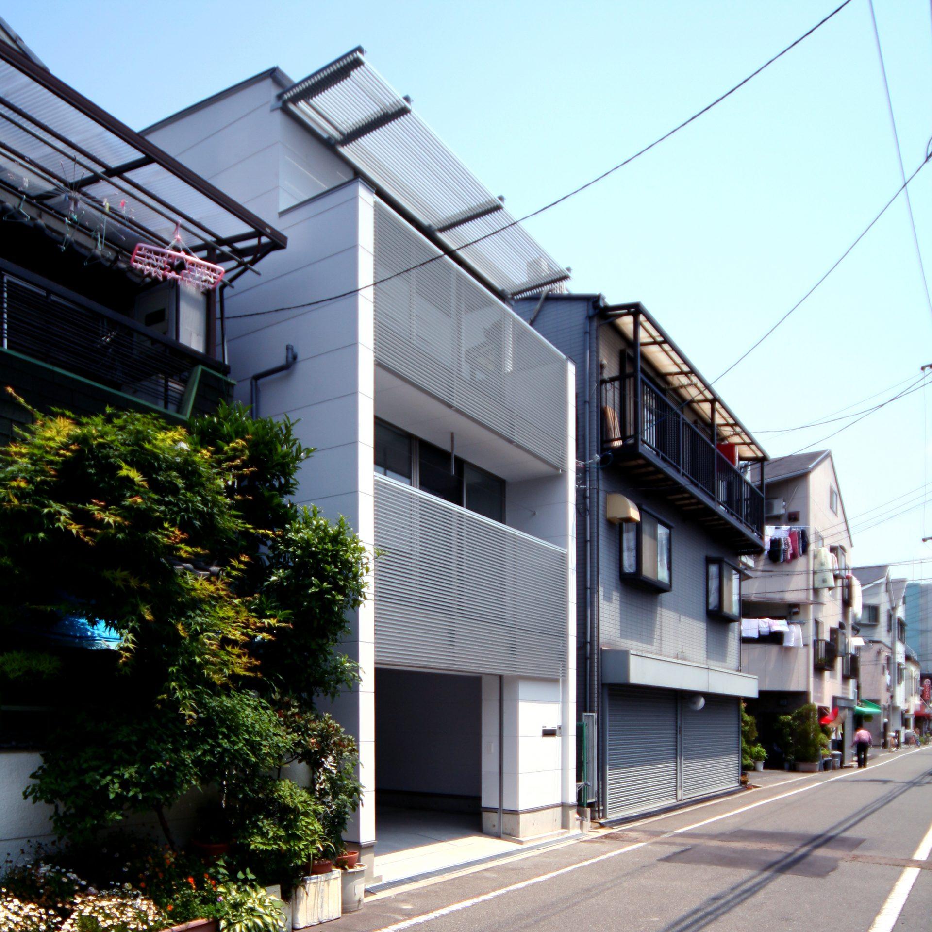 大阪此花の小さな家の外観01