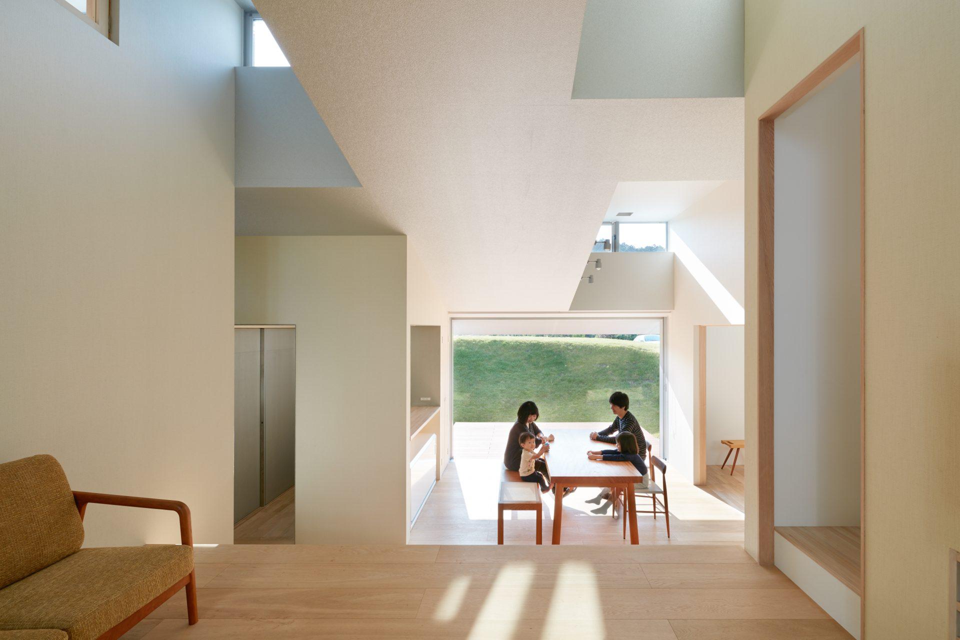 徳島徳島の家のリビング01