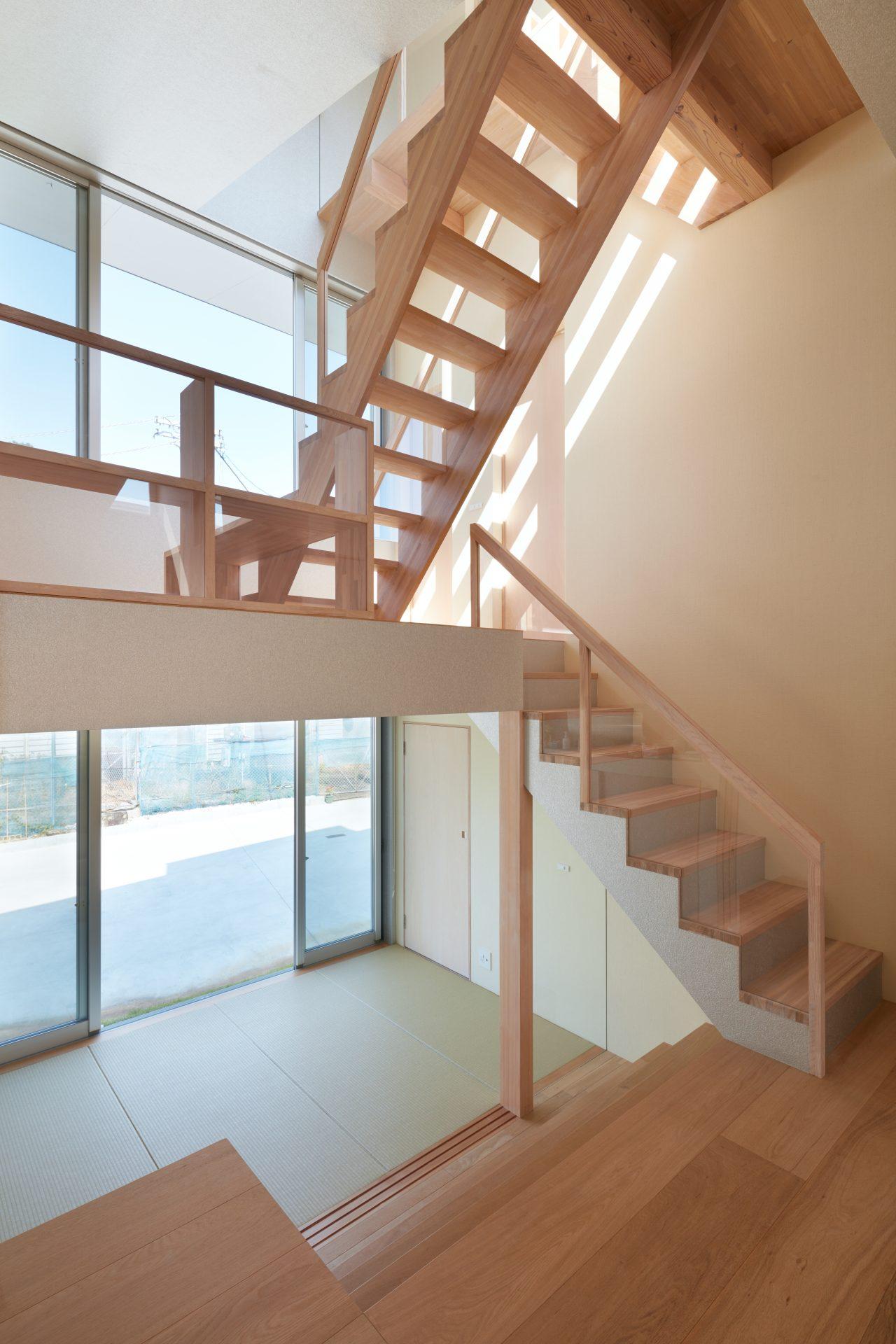 徳島徳島の家の階段