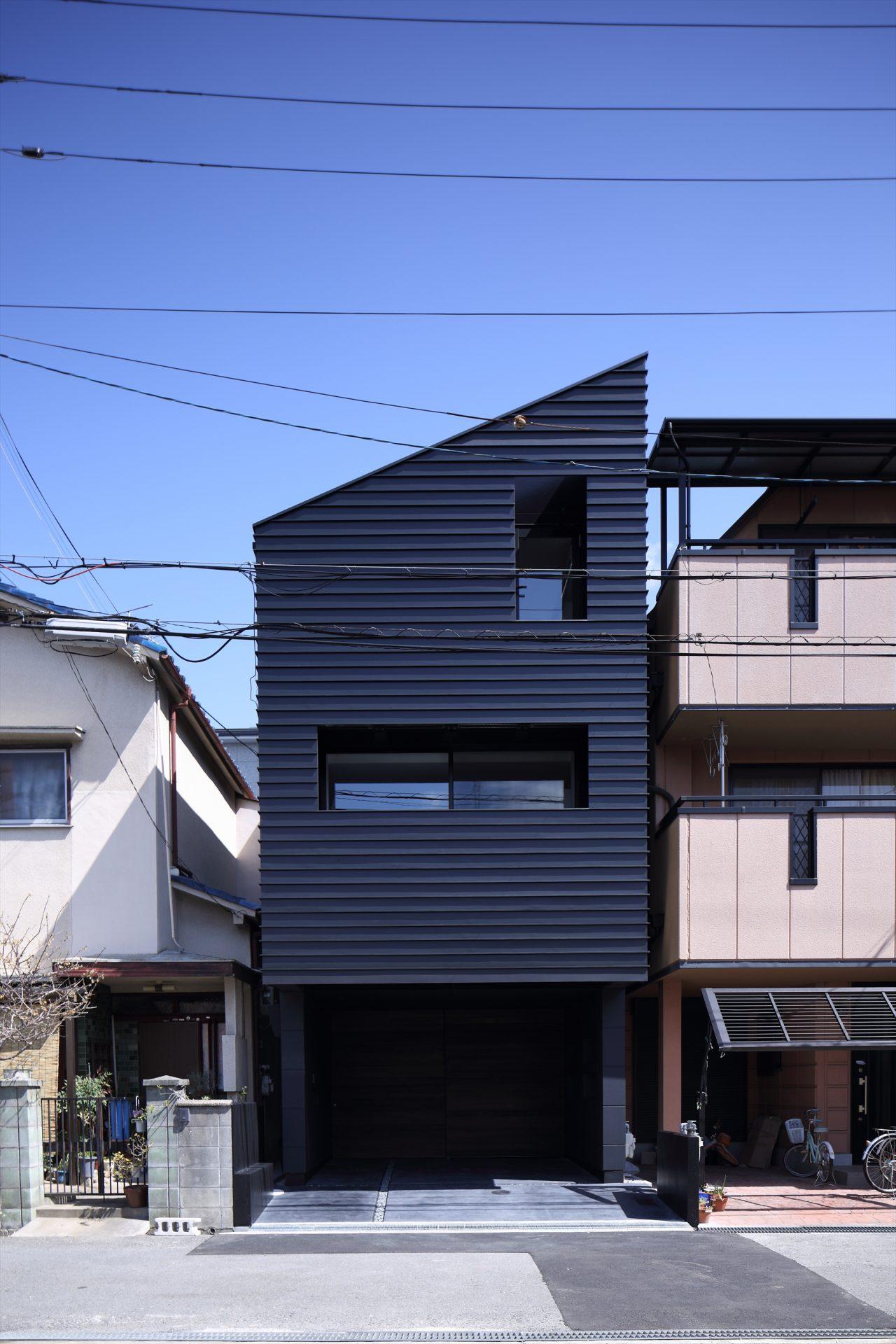 兵庫武庫之荘の家の外観