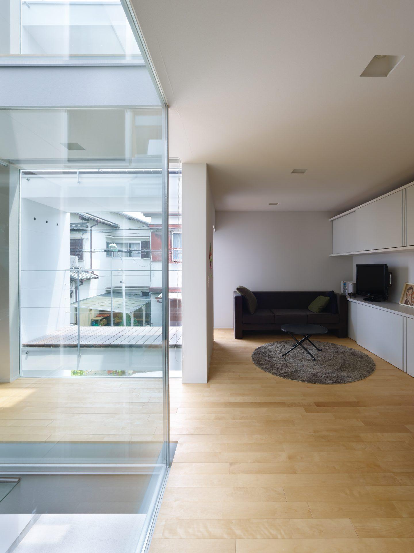 福井敦賀の家の2階リビング02