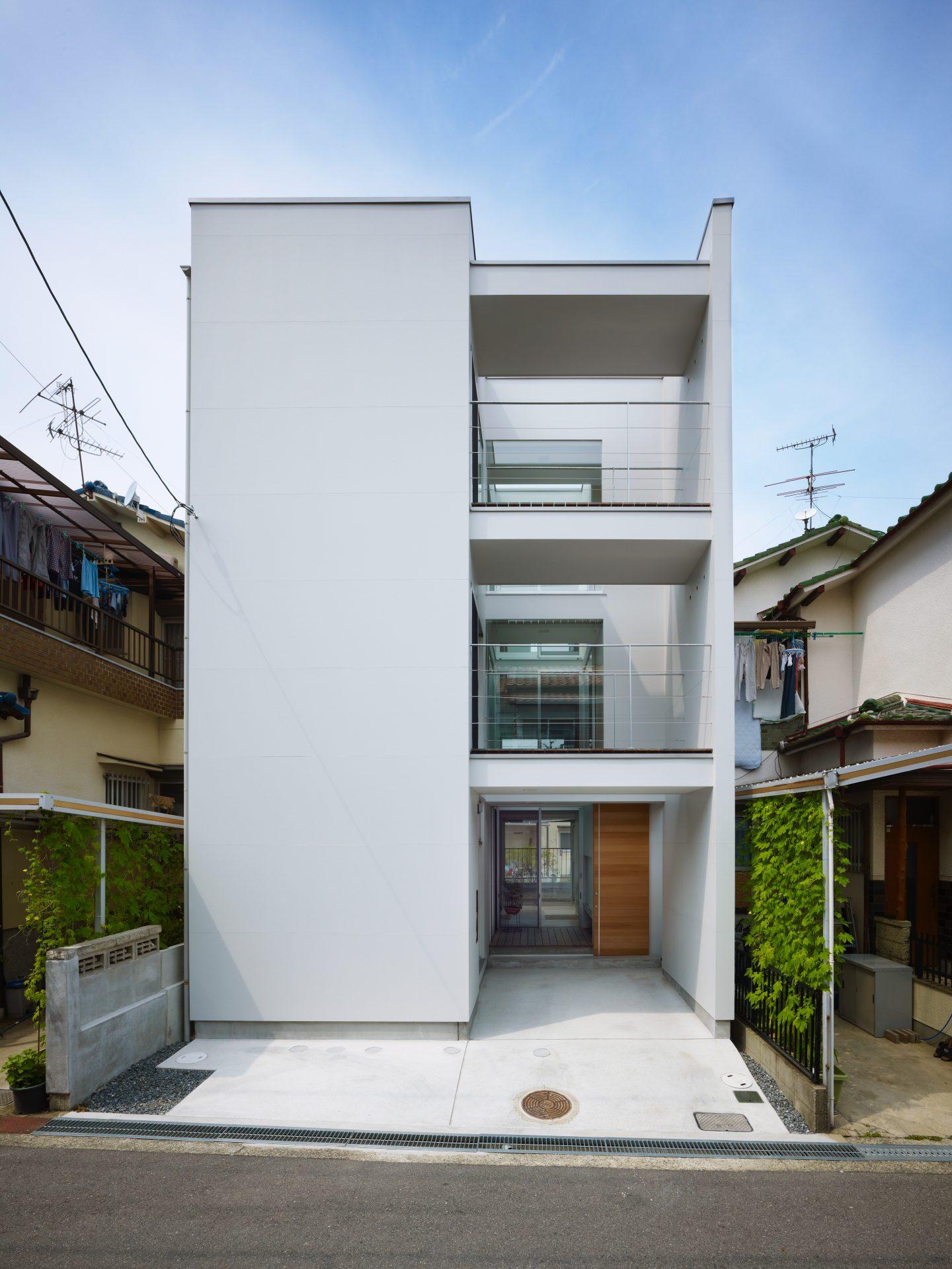 福井敦賀の家の外観
