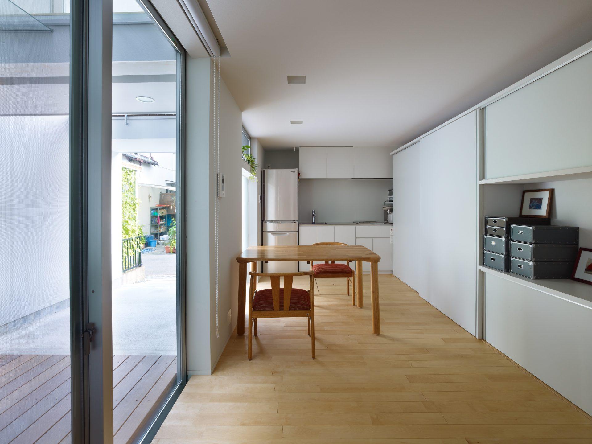 福井敦賀の家のLDK01