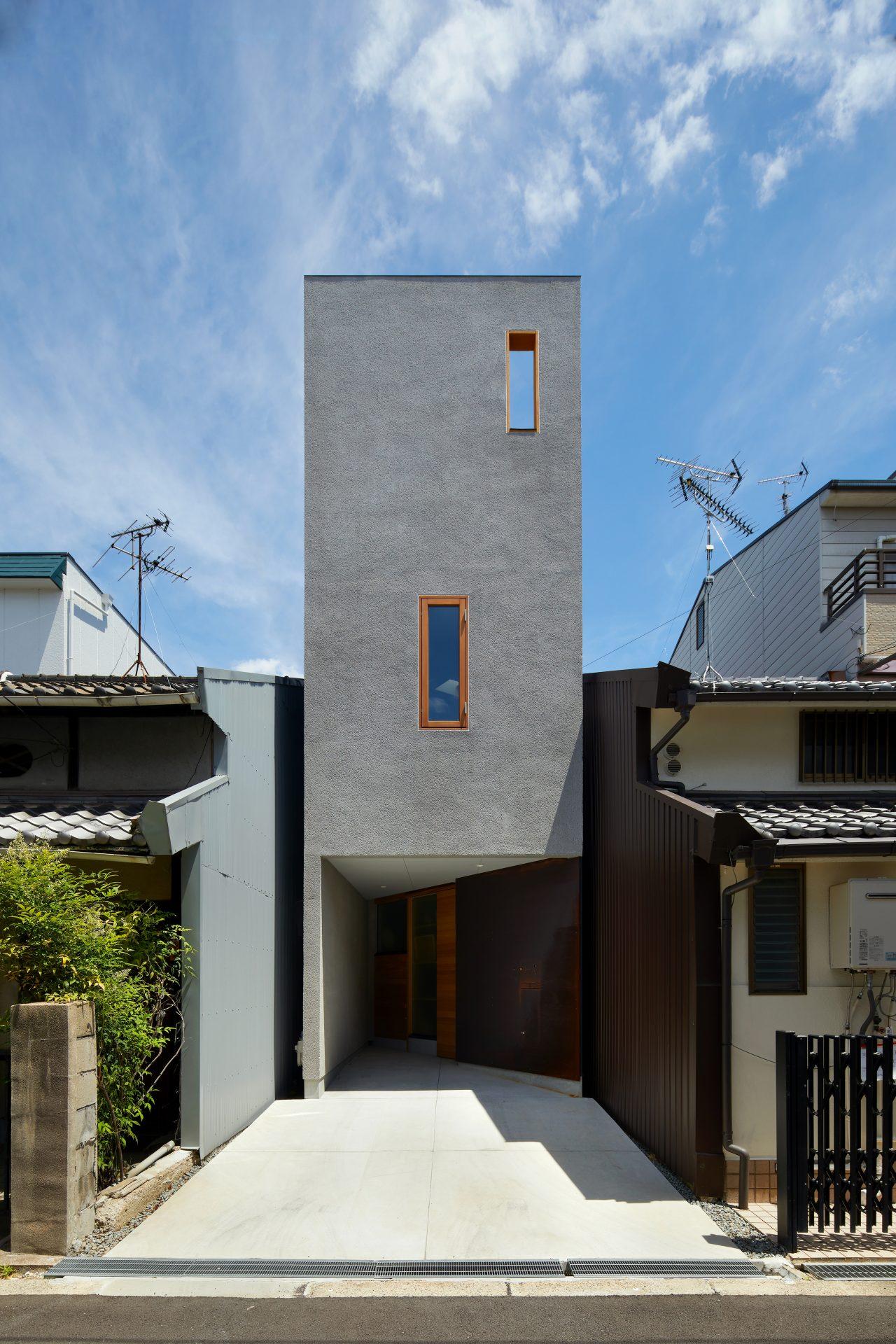 大阪帝塚山の家の外観01