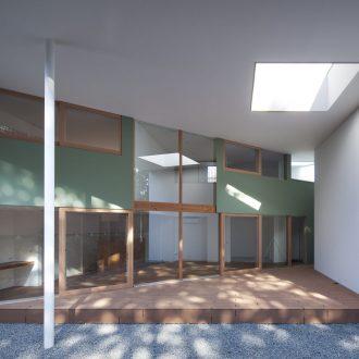 大阪松原の家のテラス01