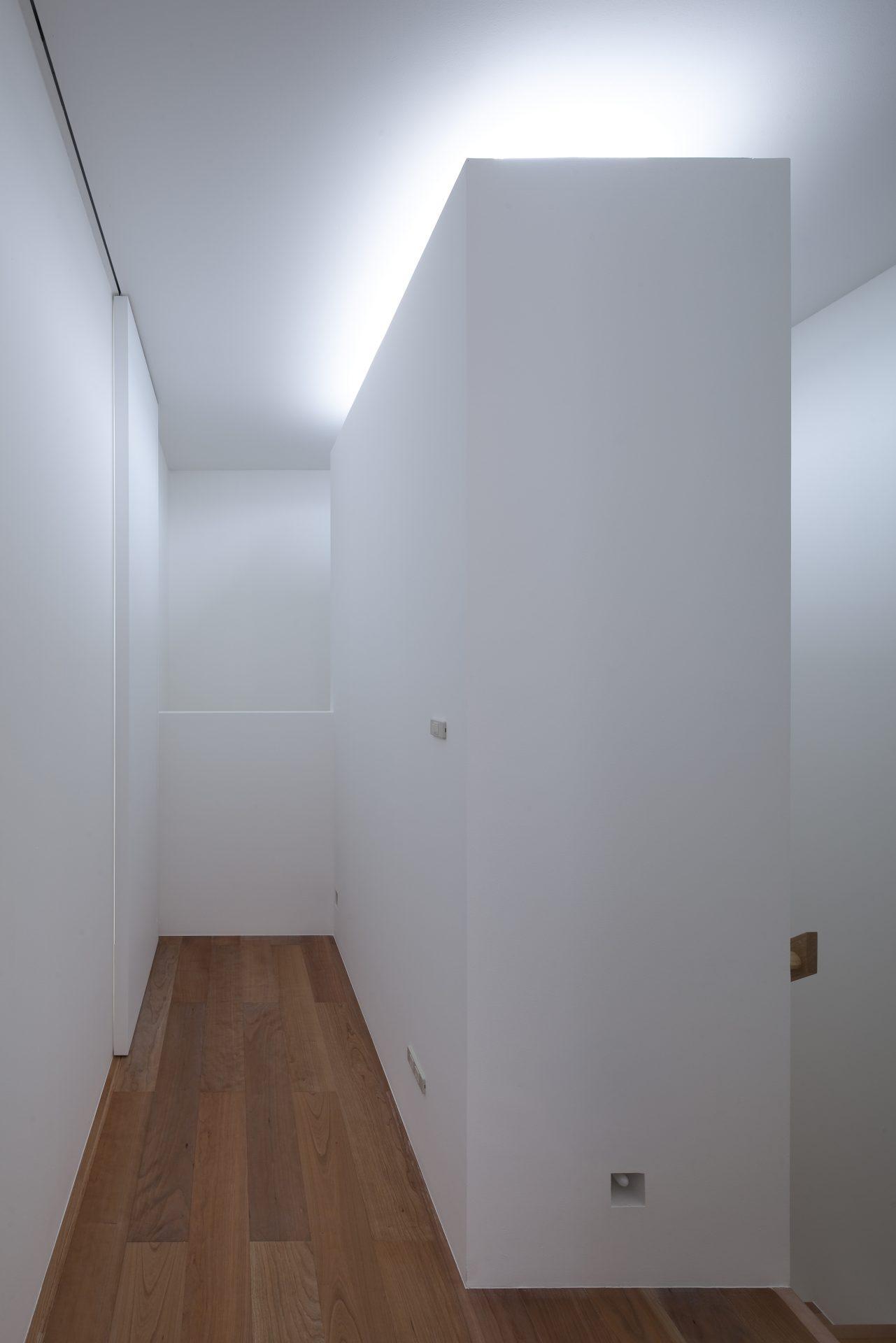 大阪松原の家の廊下