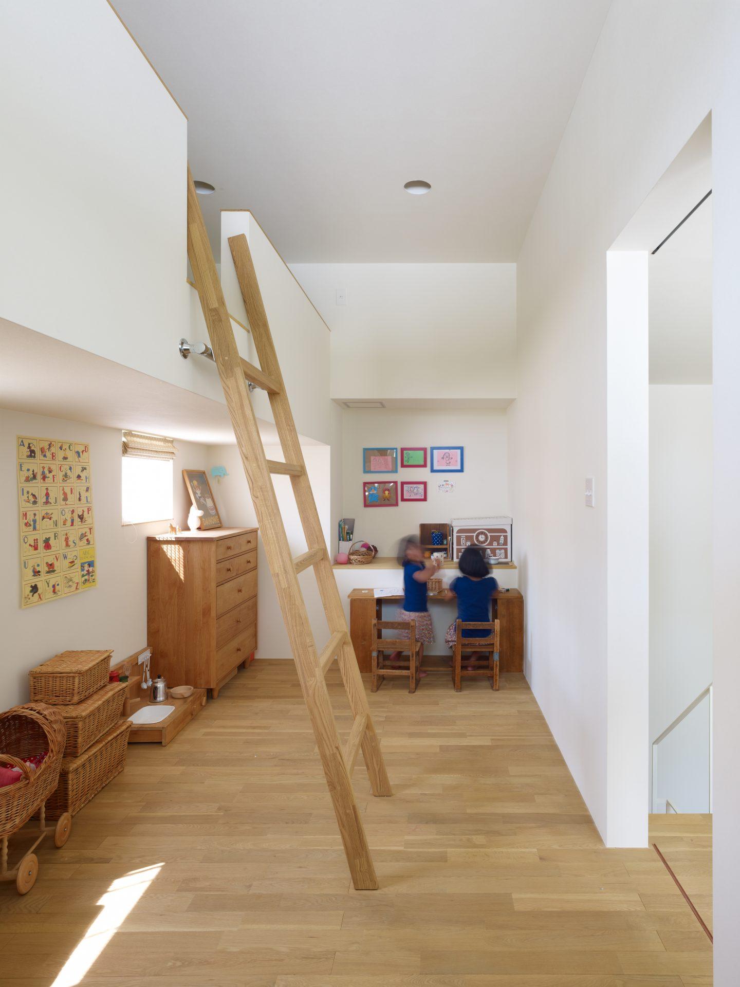 兵庫西宮の家の子供室