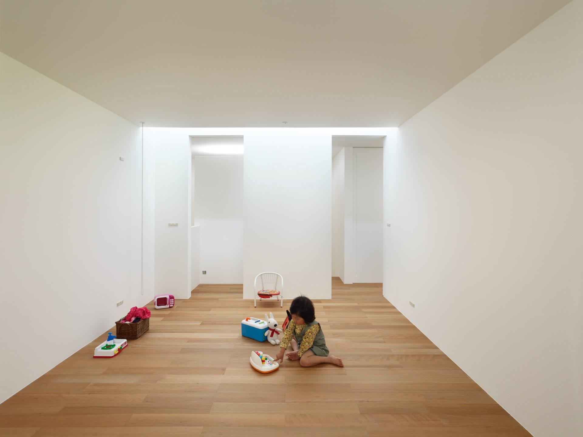 大阪松原の家の子供室