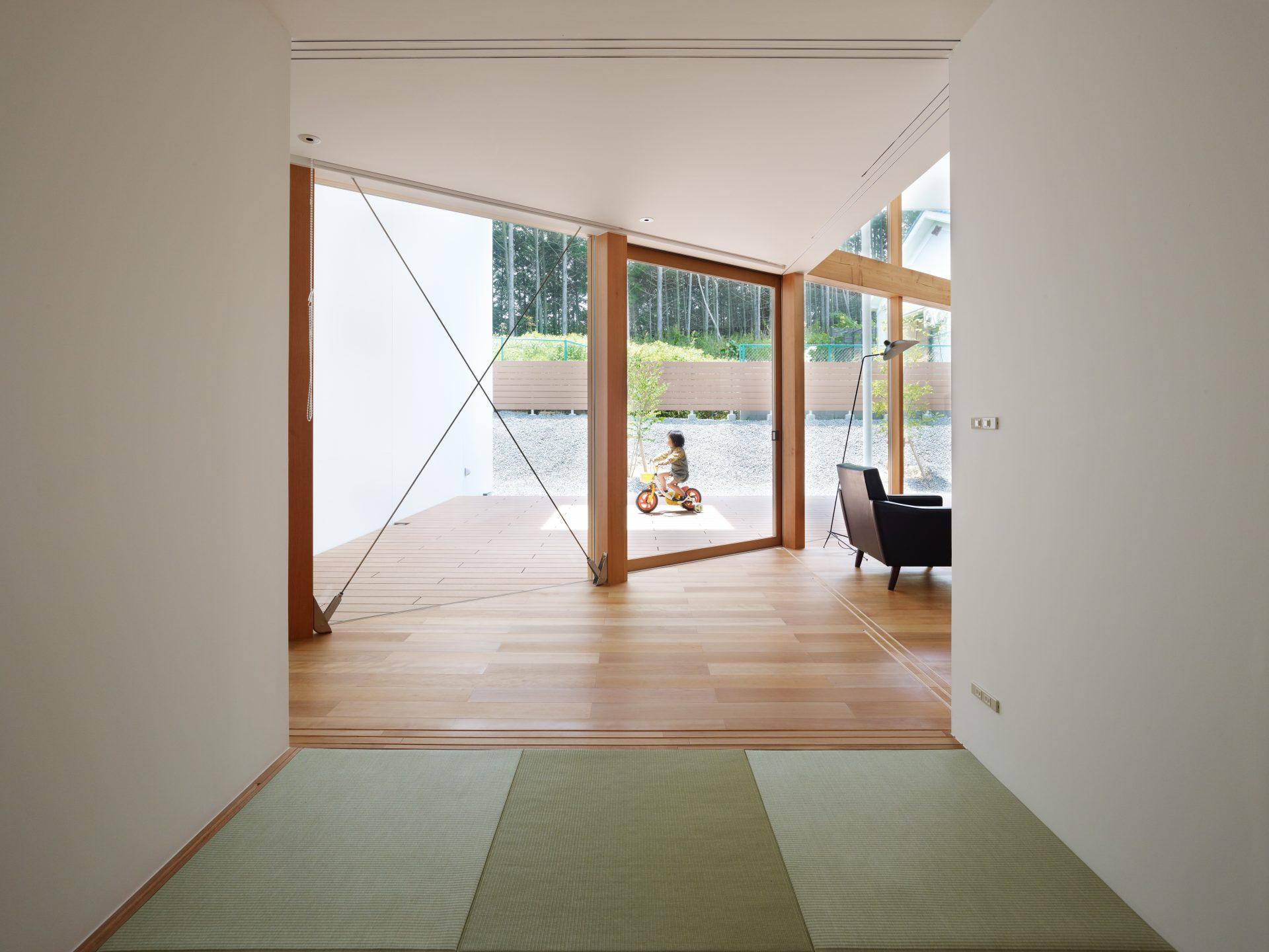 大阪松原の家の和室