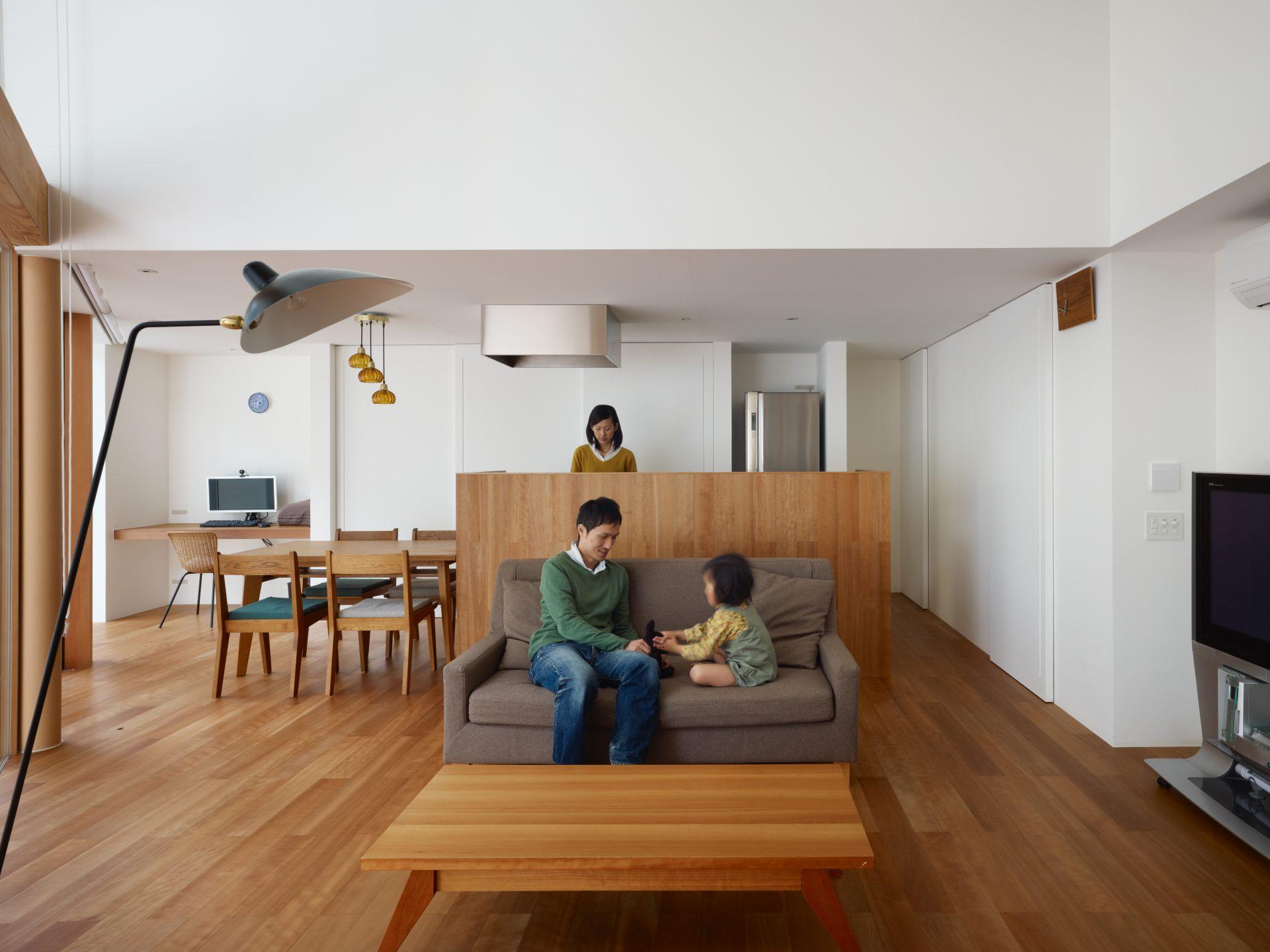 大阪松原の家のLDK03