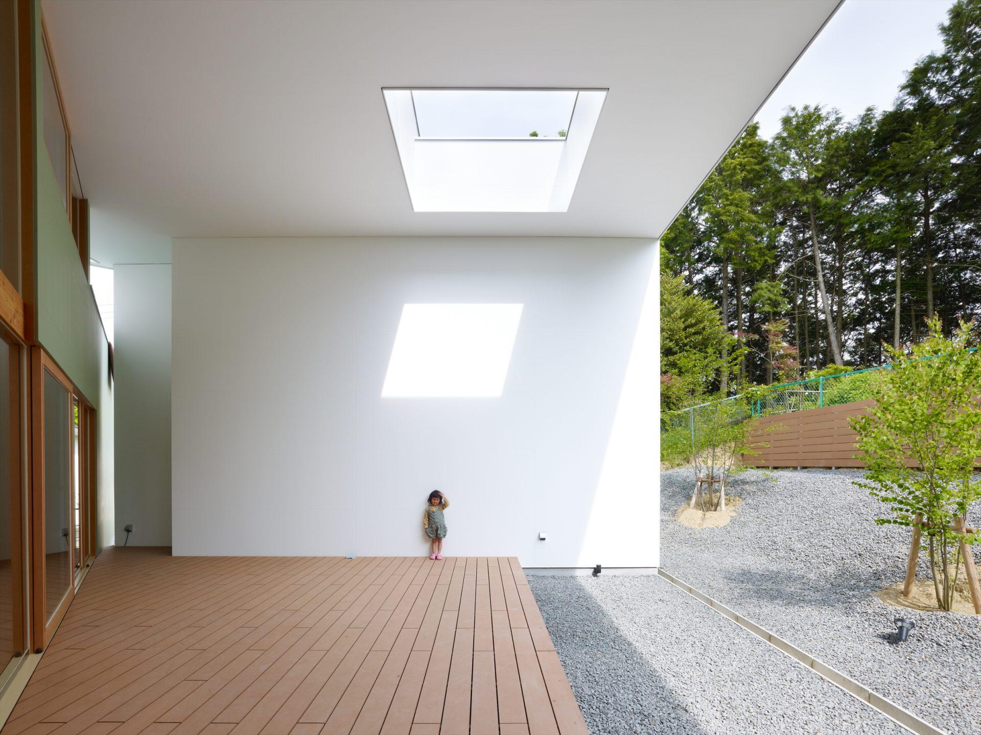 大阪松原の家のテラス03