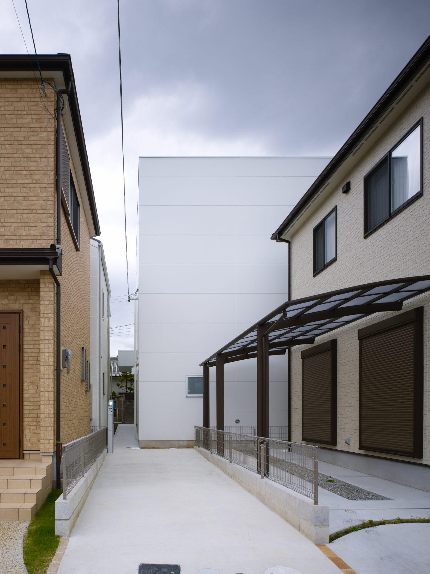 大阪スロープの家の外観