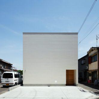 大阪長瀬の家の外観