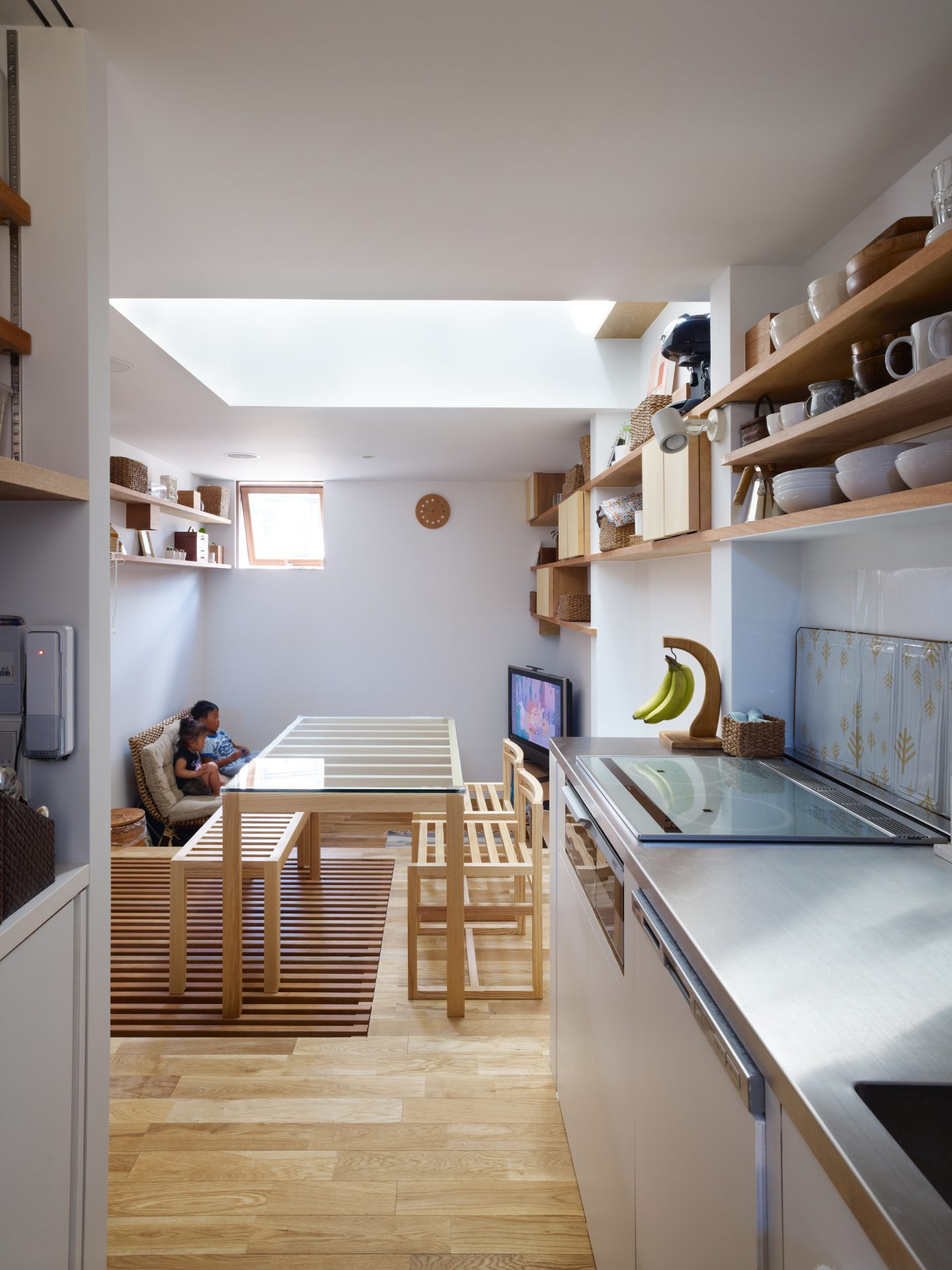 兵庫神戸の小さな家のキッチン01